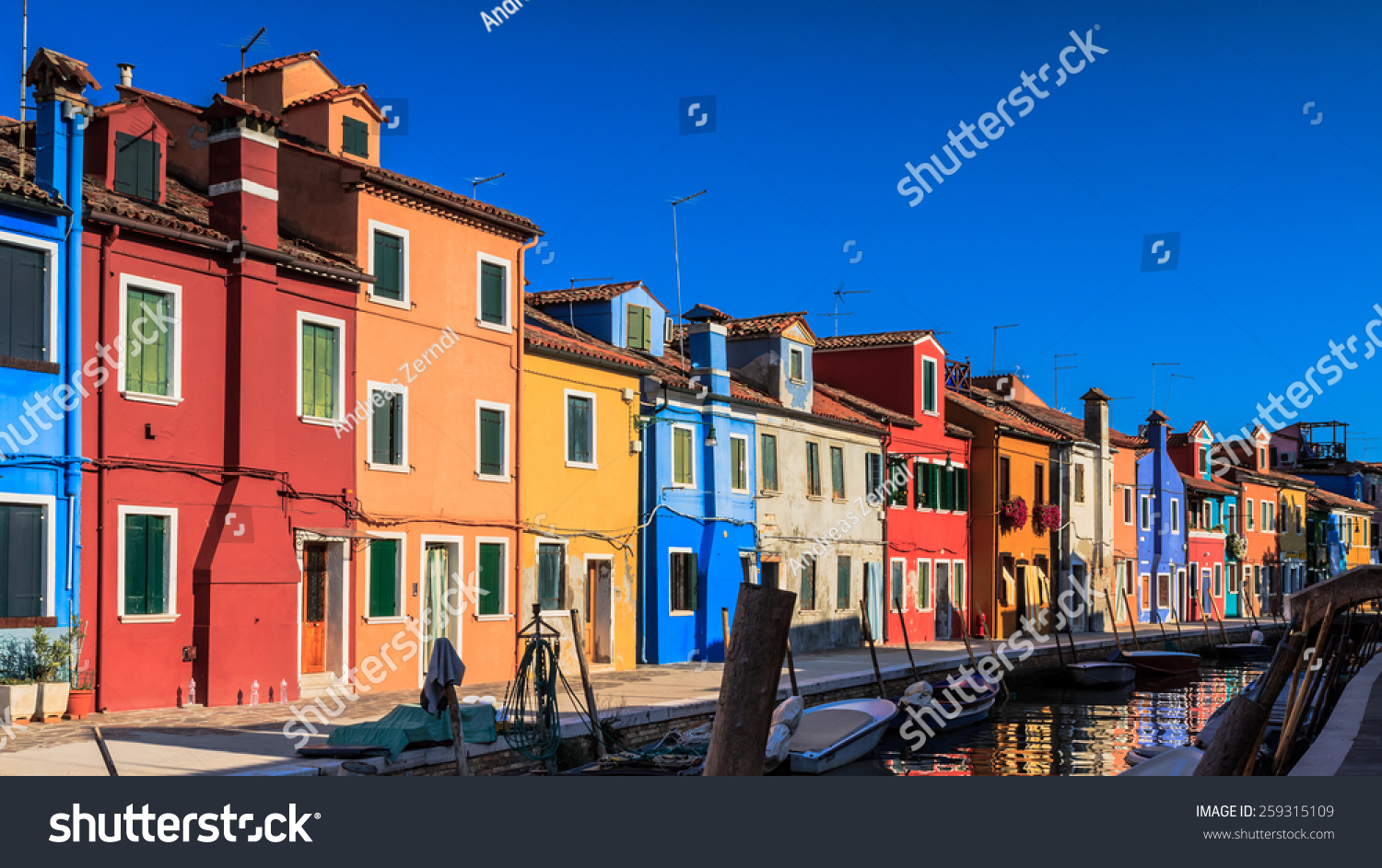 Colorful burano italy burano tourism -  Colorful Houses Of Burano Tourism Island In Preview Save To A Lightbox
