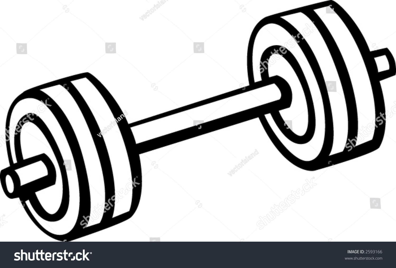 Weights Stock Vector 2593166 - Shutterstock
