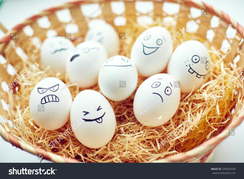 funny eggs emotion mood - photo #38