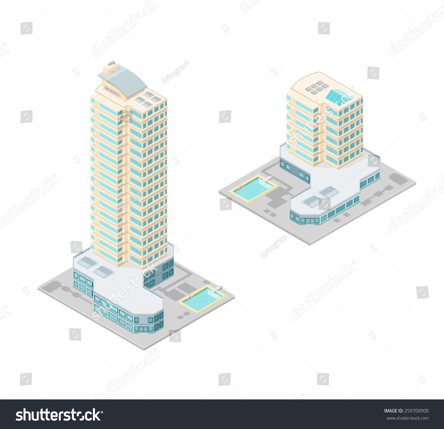 Hotel Large Diagram Wiring Diagrams How To Draw A State Machine Vector Illustration Isometric Hotels Swimming Pool Stock Rh Shutterstock Com Parking Lots With