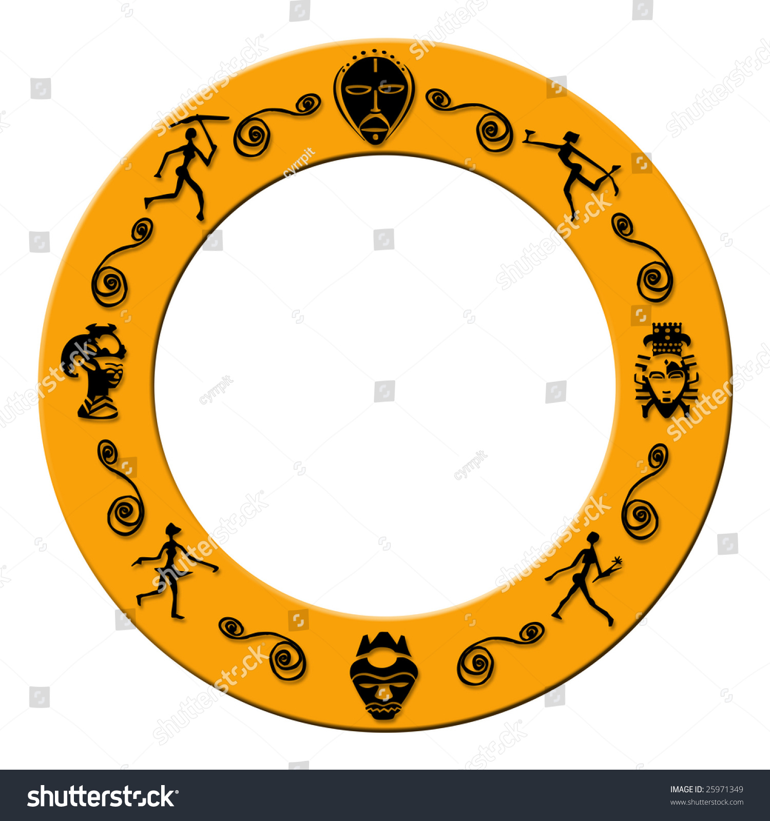 African signs and symbols choice image symbol and sign ideas orange colored round frame plastic african stock illustration orange colored round frame with plastic african signs buycottarizona