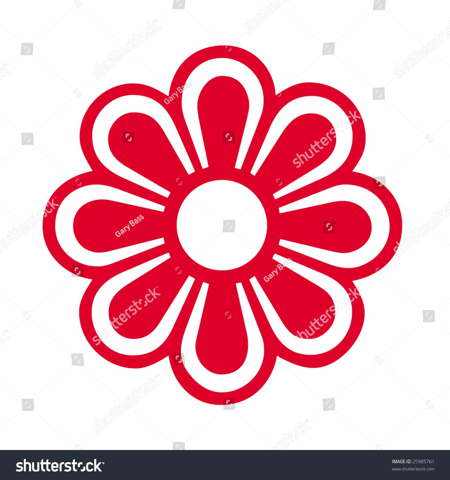 Flower Symbol Stock Shutterstock