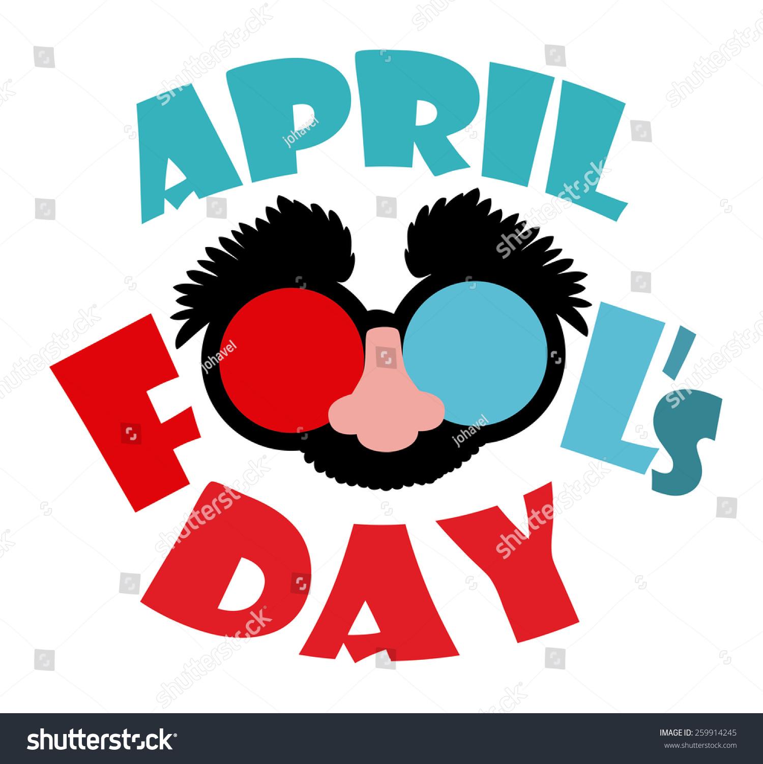 April Fools Day Design Vector Illustration Stock Vector 259914245 ...