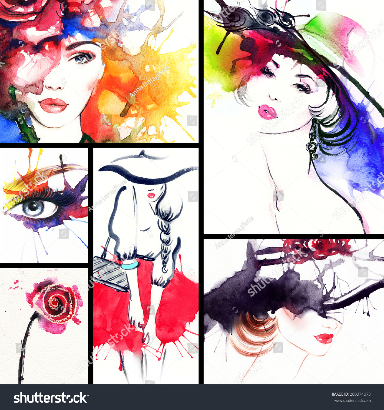 to wear - Collage Fashion backgrounds pictures video