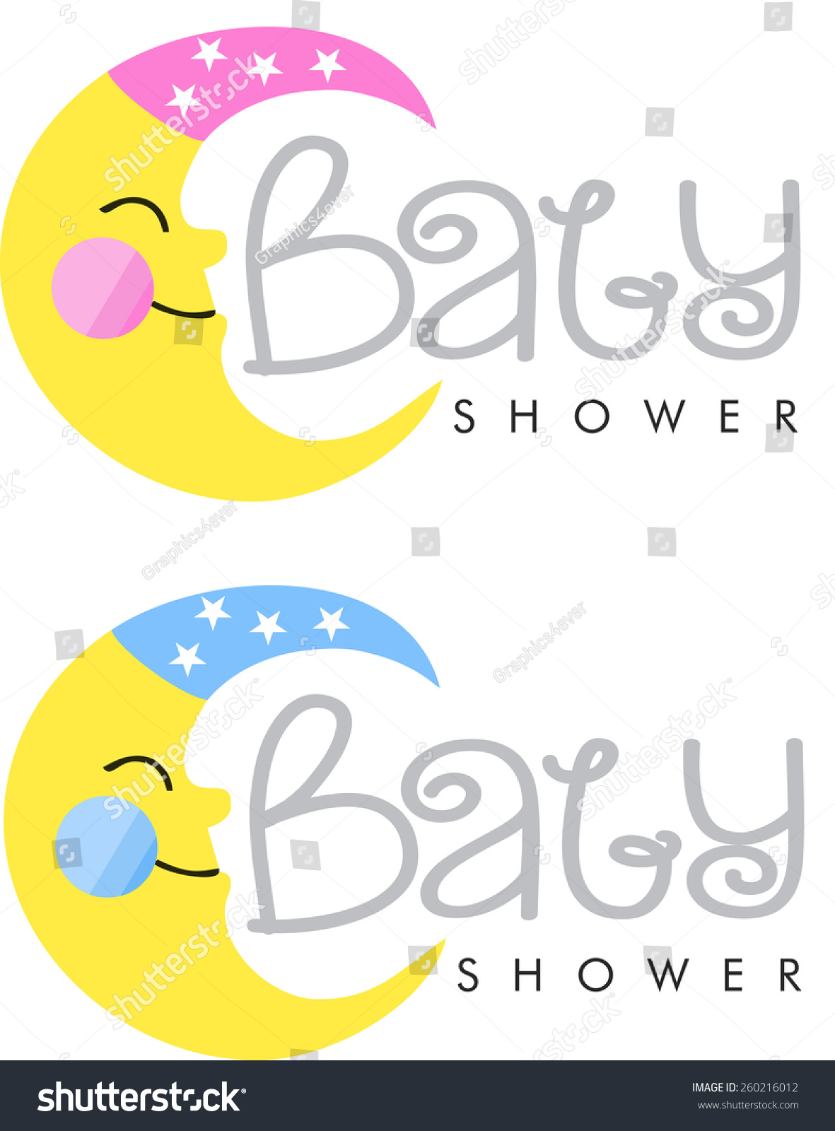 baby shower logo baby depot logo stock vector illustration 260216012