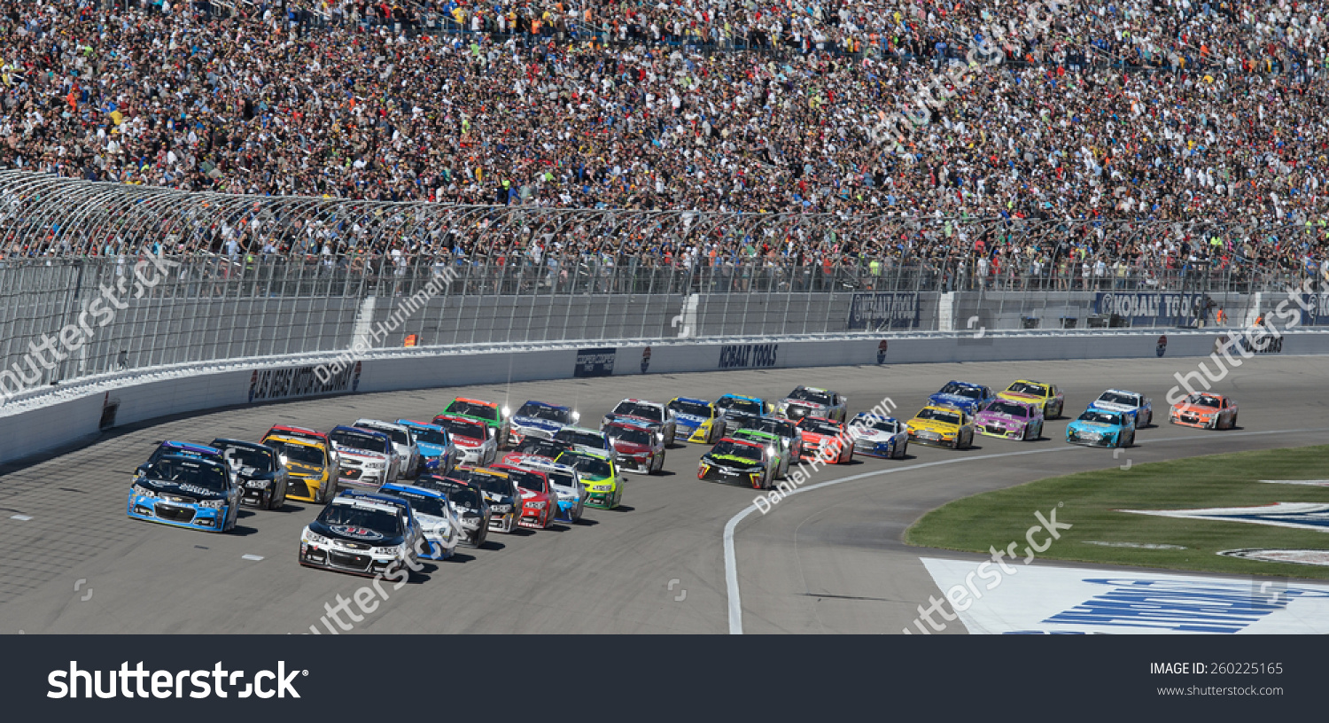 Las vegas nv march 08 kevin stock photo 260225165 for How long is las vegas motor speedway