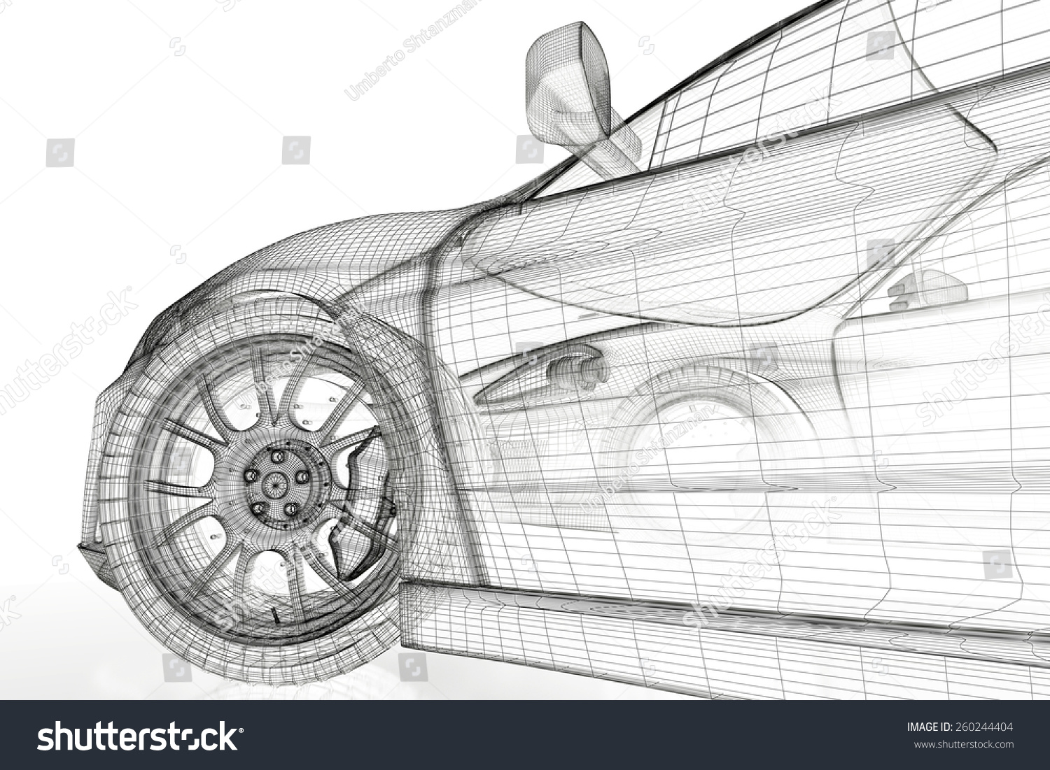 Complicated engineering drawing of car engine sect stock blue print blueprint car malvernweather Images