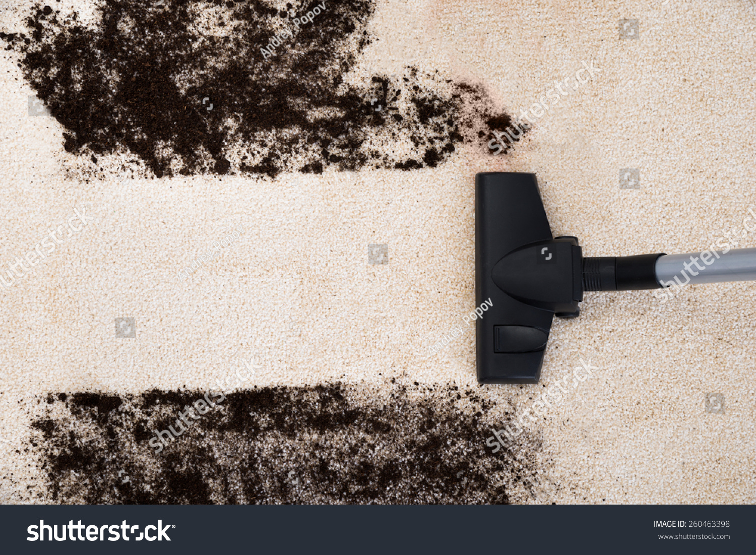 how to clean dirt off carpet