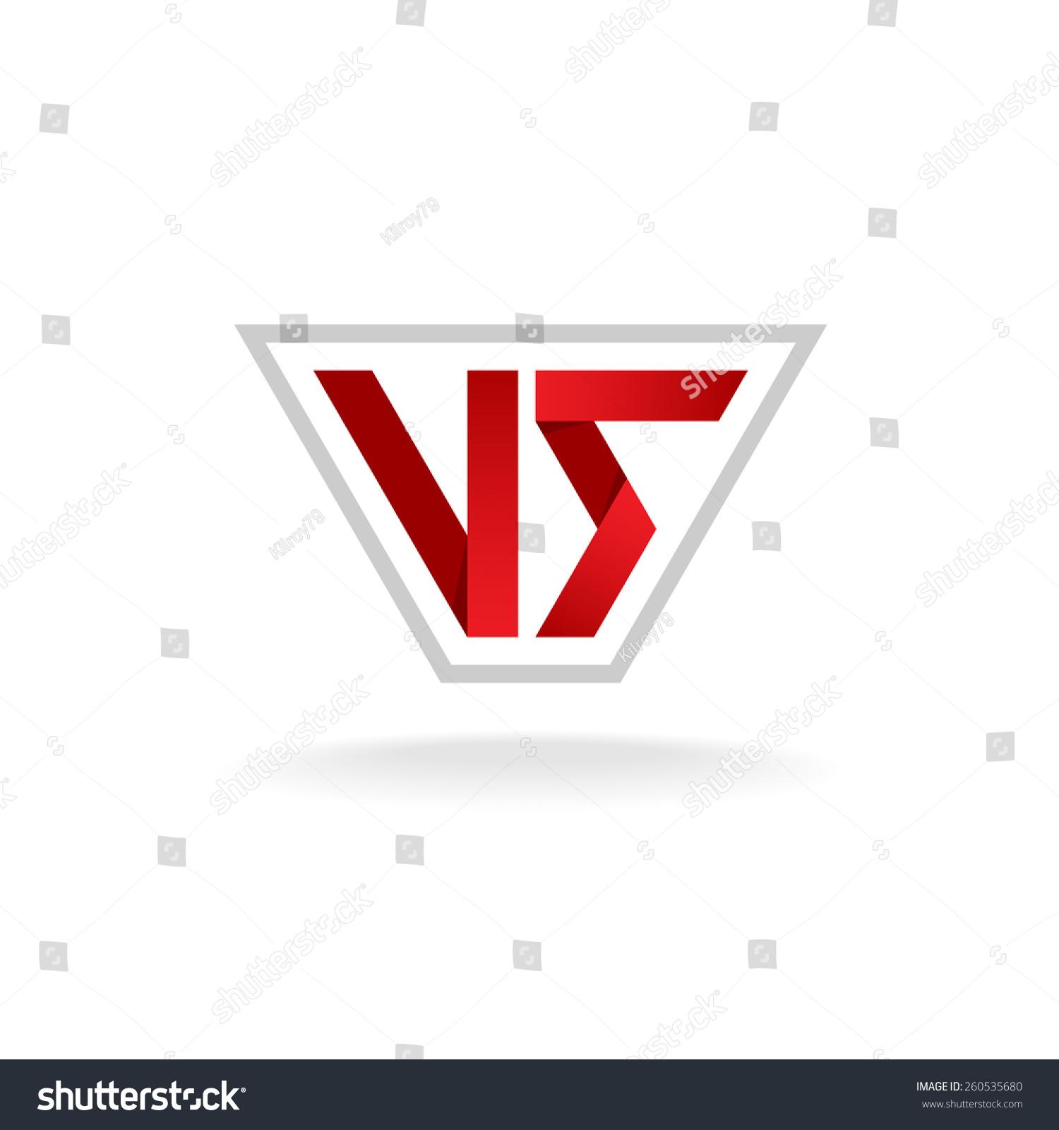 Red V Company Lo...V Company Logo