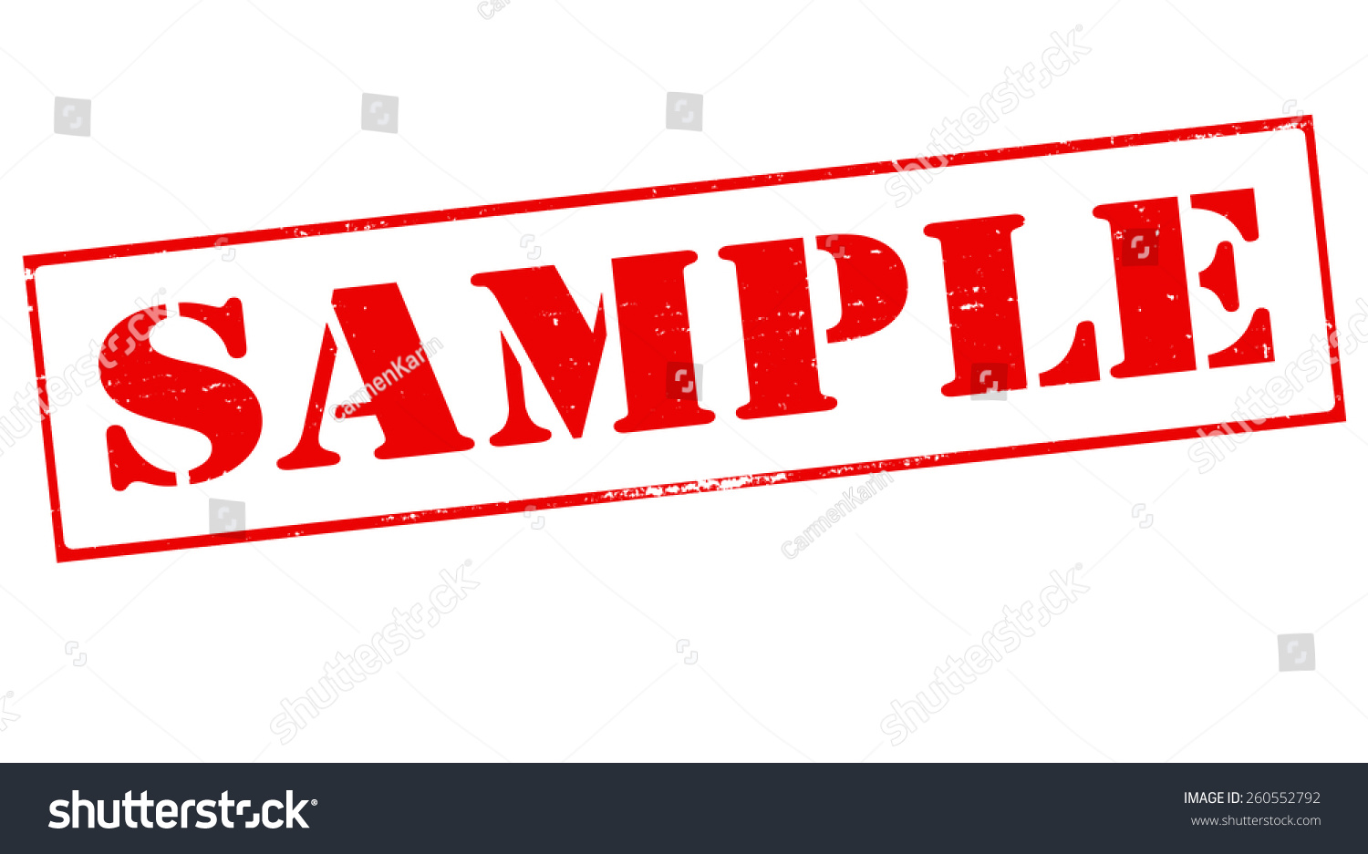 stamp word sample inside vector illustration stock vector (royalty