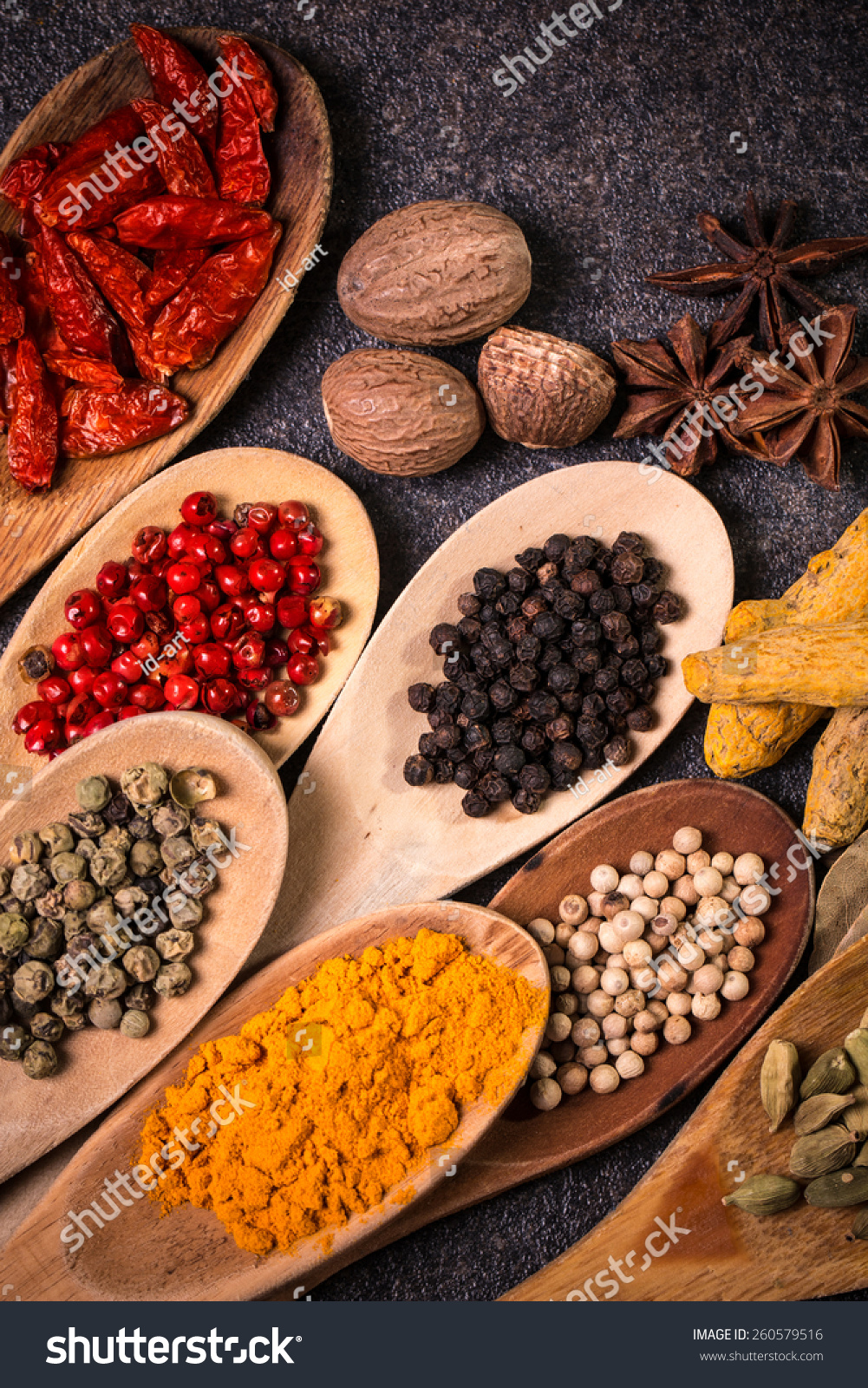 Ingredients,Spices Stock Photo 260579516 : Shutterstock