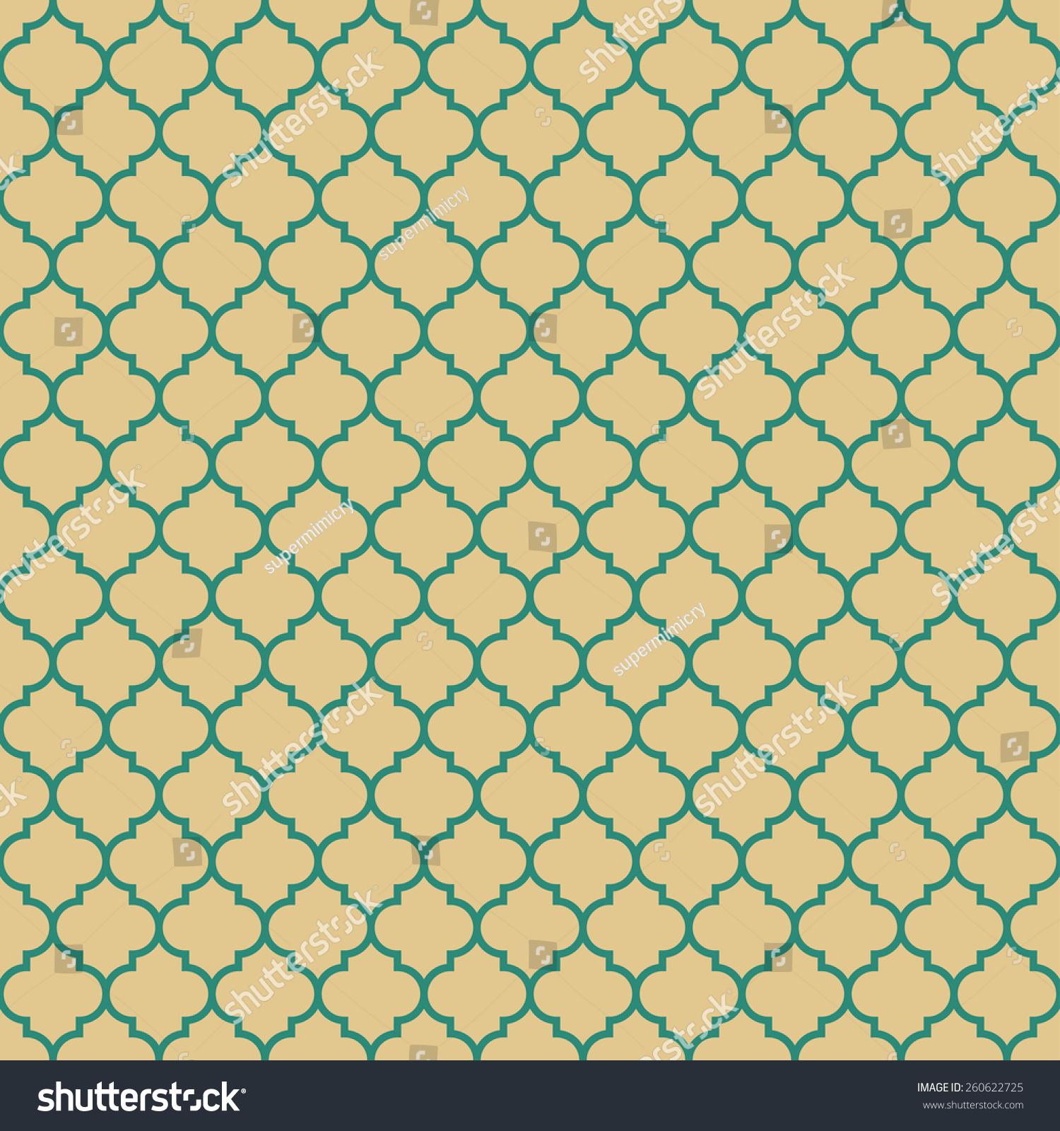 Quatrefoil Pattern. Se...