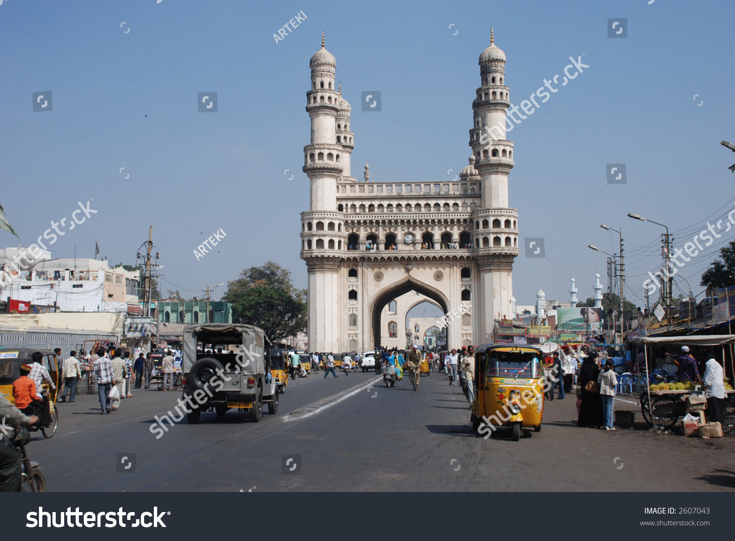 charminar  hyderabad u2019s principal landmark  built in 1591