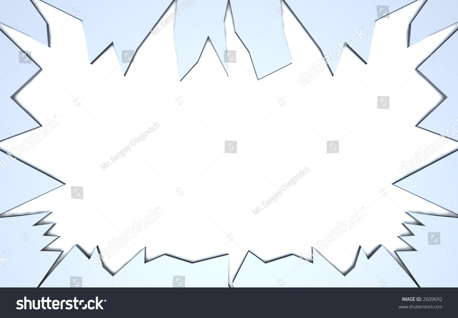 Broken Frame Stock Illustration 2609692 - Shutterstock