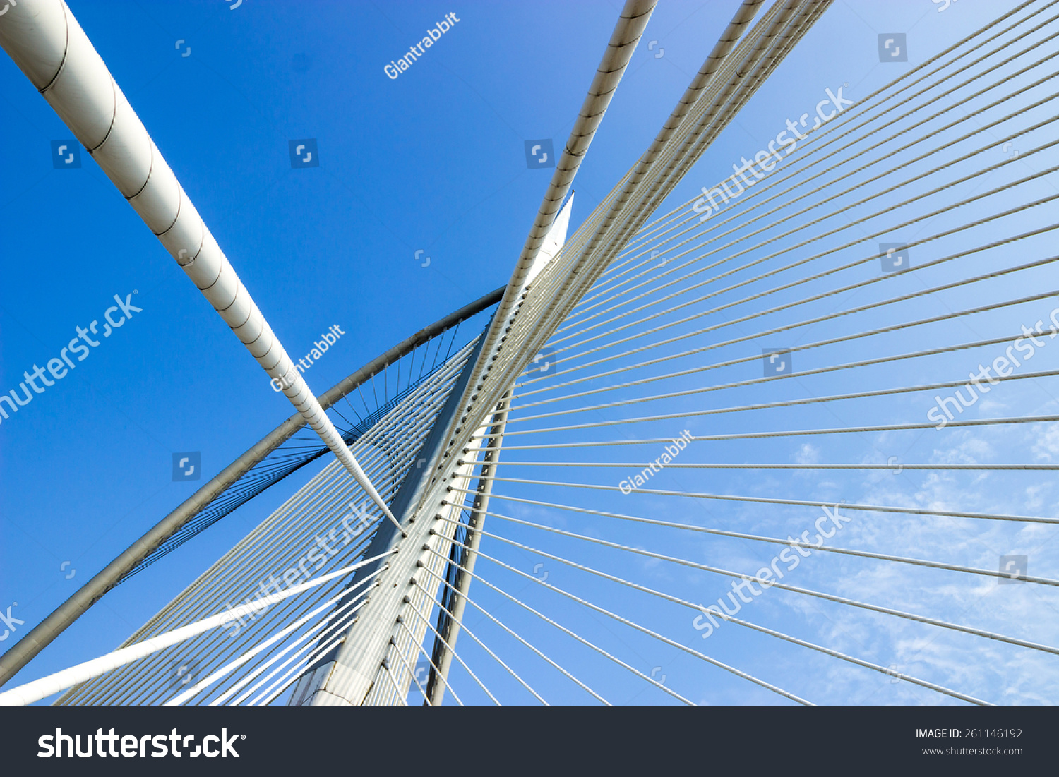 Suspension bridge structure #261146192