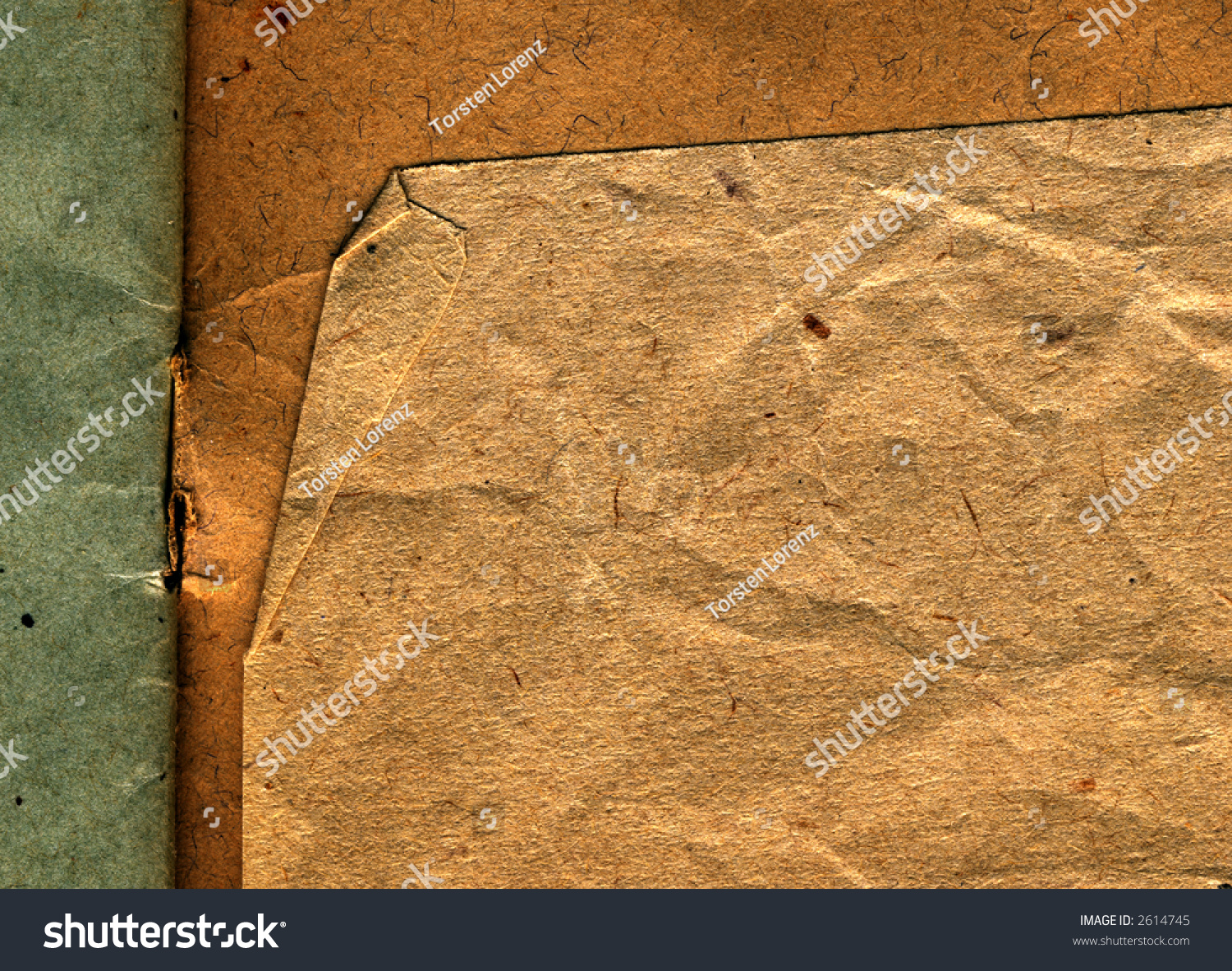 Grunge Book Cover Texture : Grunge antique book cover detail stock photo