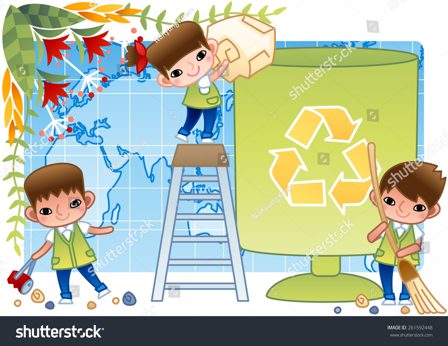 Kids Picking Up Trash Clip Art | www.imgkid.com - The ...