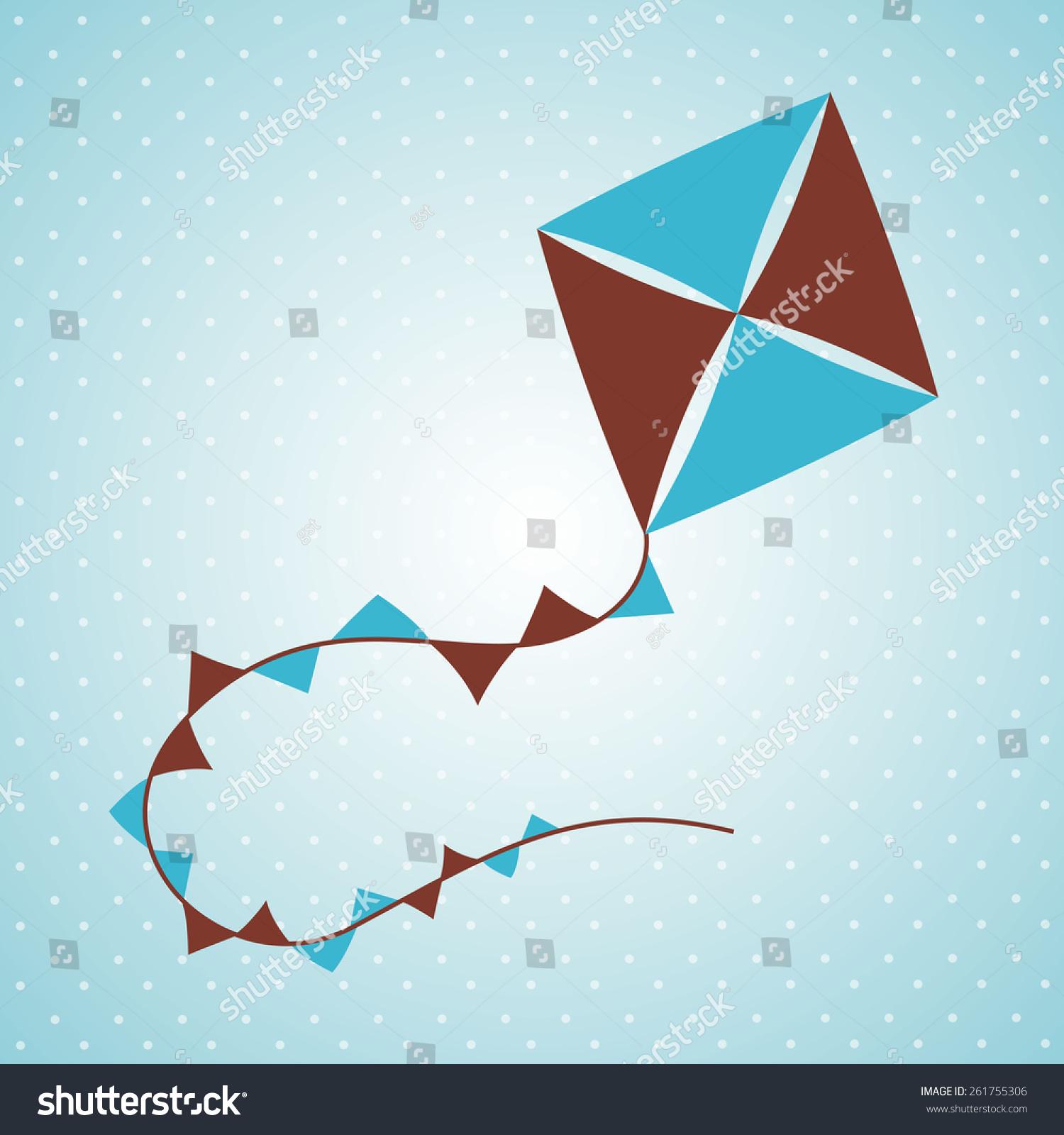 flying kite illustration - photo #48