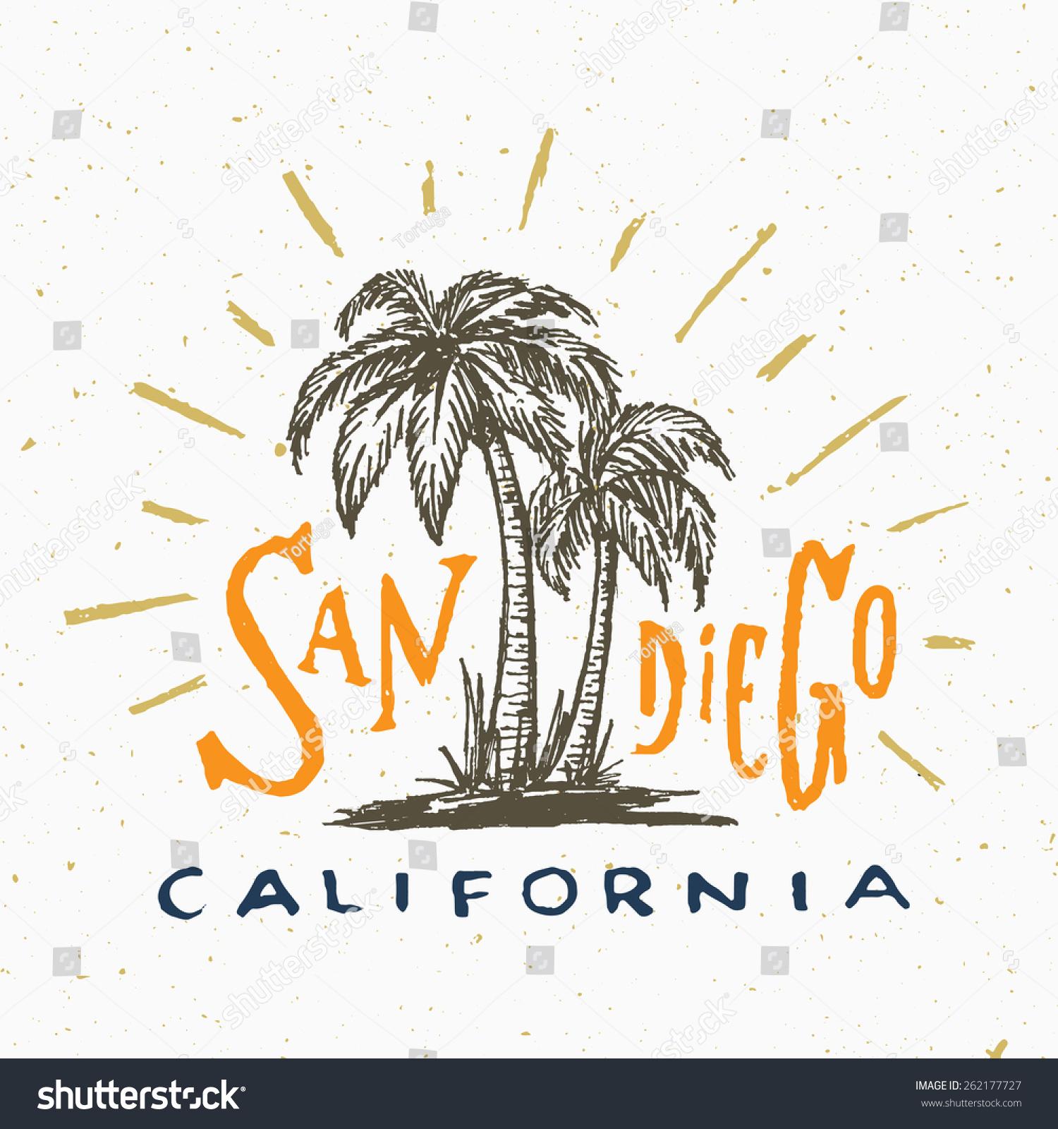 Shirt design san diego - San Diego California T Shirt Graphic Vintage Apparel Fashion Tee Design Retro Urban Youth