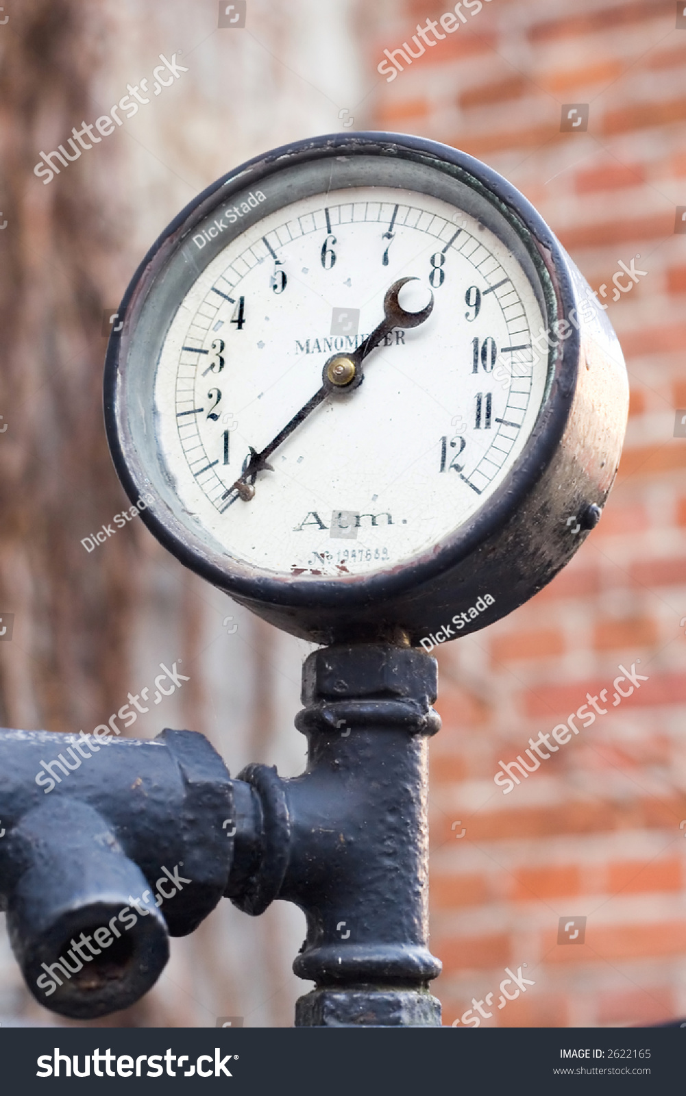 Old Manometer On Ship Motor Stock Photo 2622165 - Shutterstock