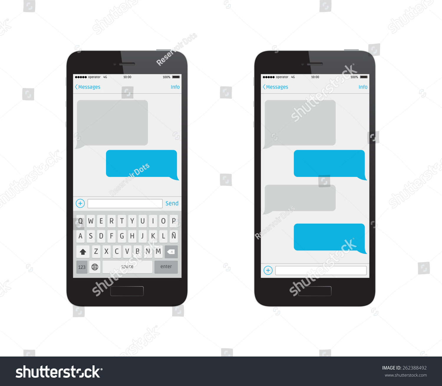 phone message template stock vector 262388492 shutterstock. Black Bedroom Furniture Sets. Home Design Ideas