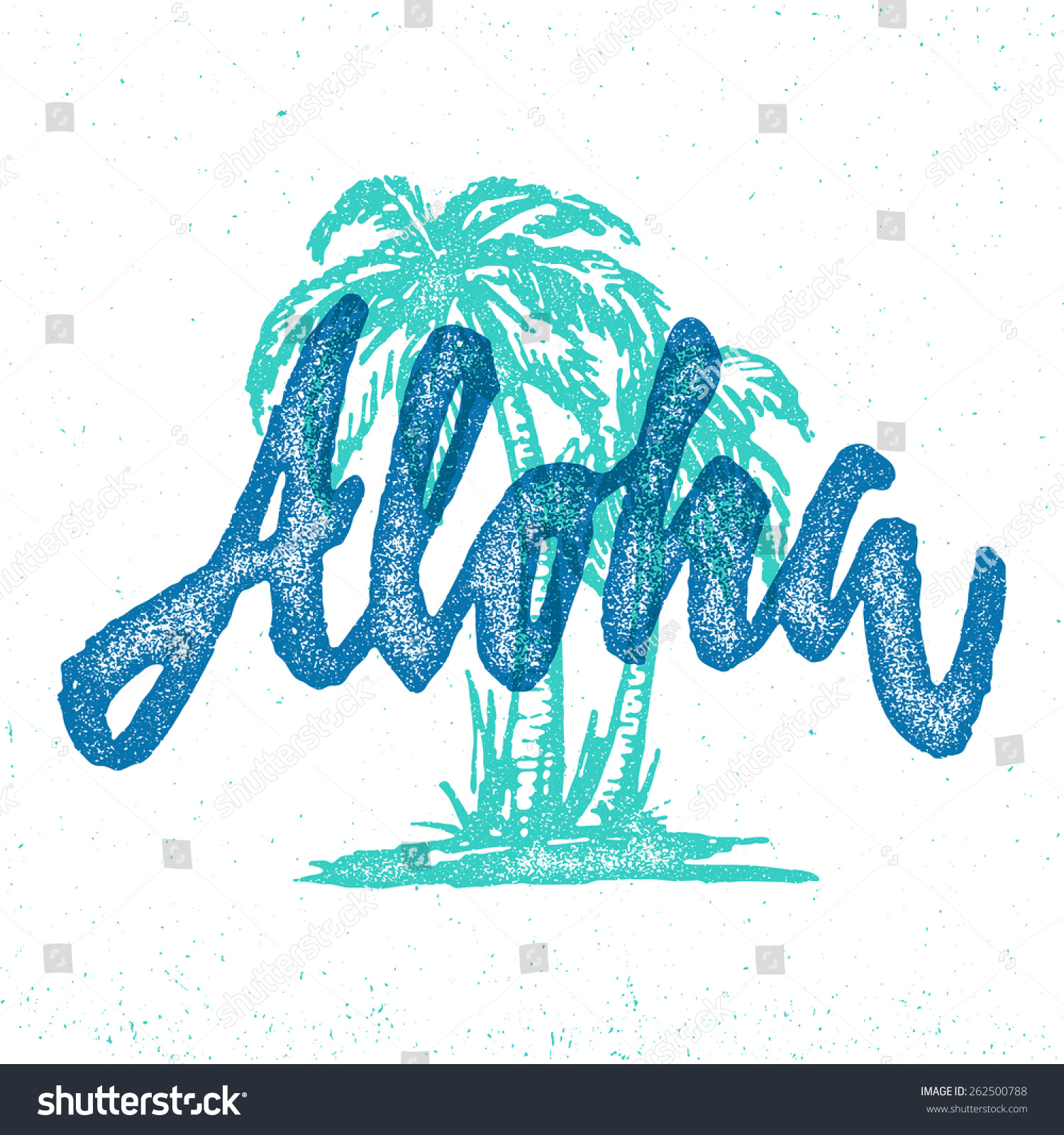 Design t shirt hand made - Aloha Hawaiian Handmade Tropical Exotic T Shirt Graphics Summer Apparel Print Design Retro Drawn