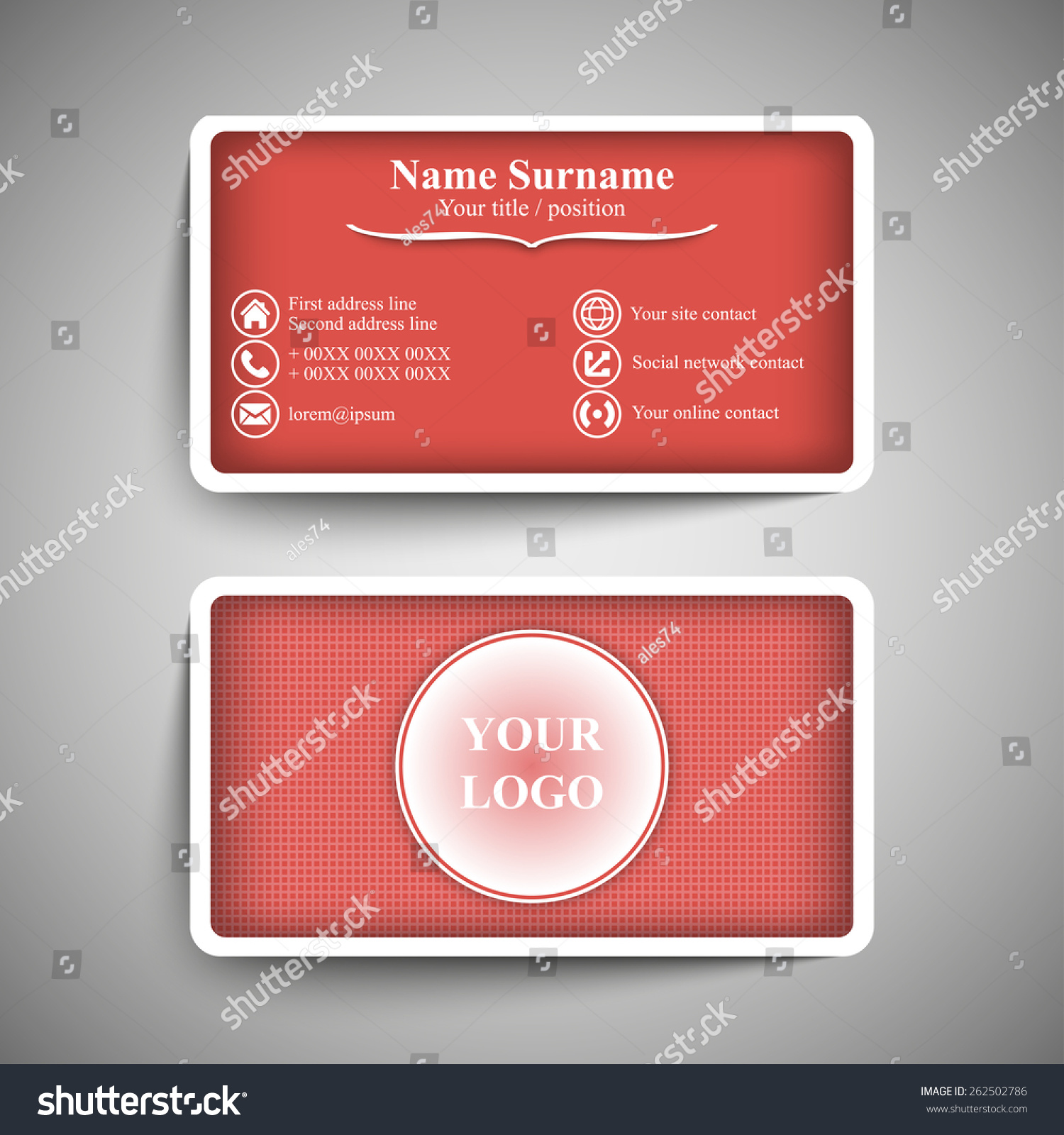 Nice Business Card Address Format Contemporary - Business Card ...