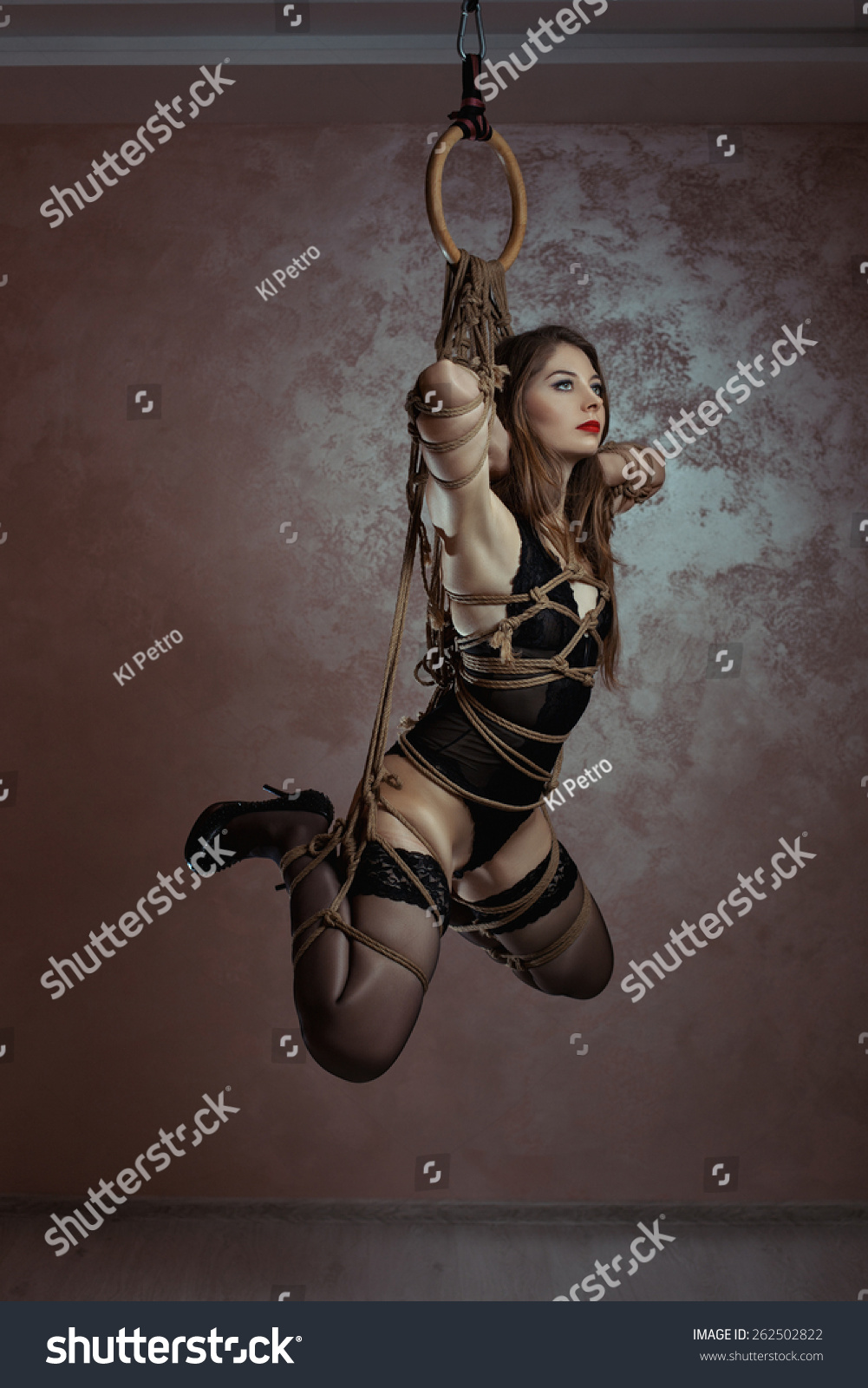 Suspended bondage pictures