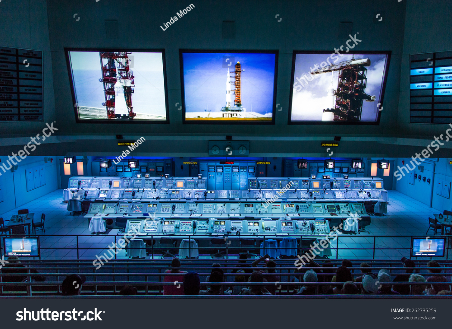 Cape Canaveral Florida Usa March  Stock Photo - Nasa museums in usa