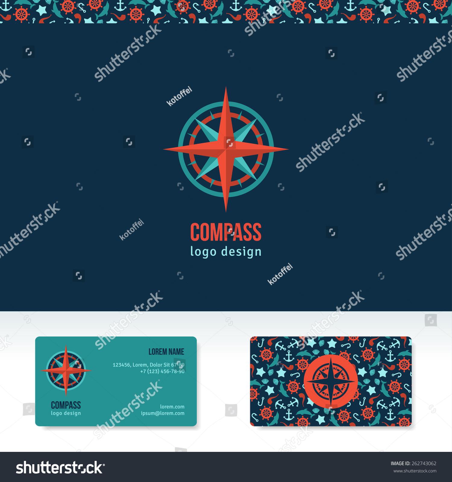Compass vector logo design template travel stock vector 262743062 compass vector logo design template travel agency abstract logo idea creative icon business magicingreecefo Gallery