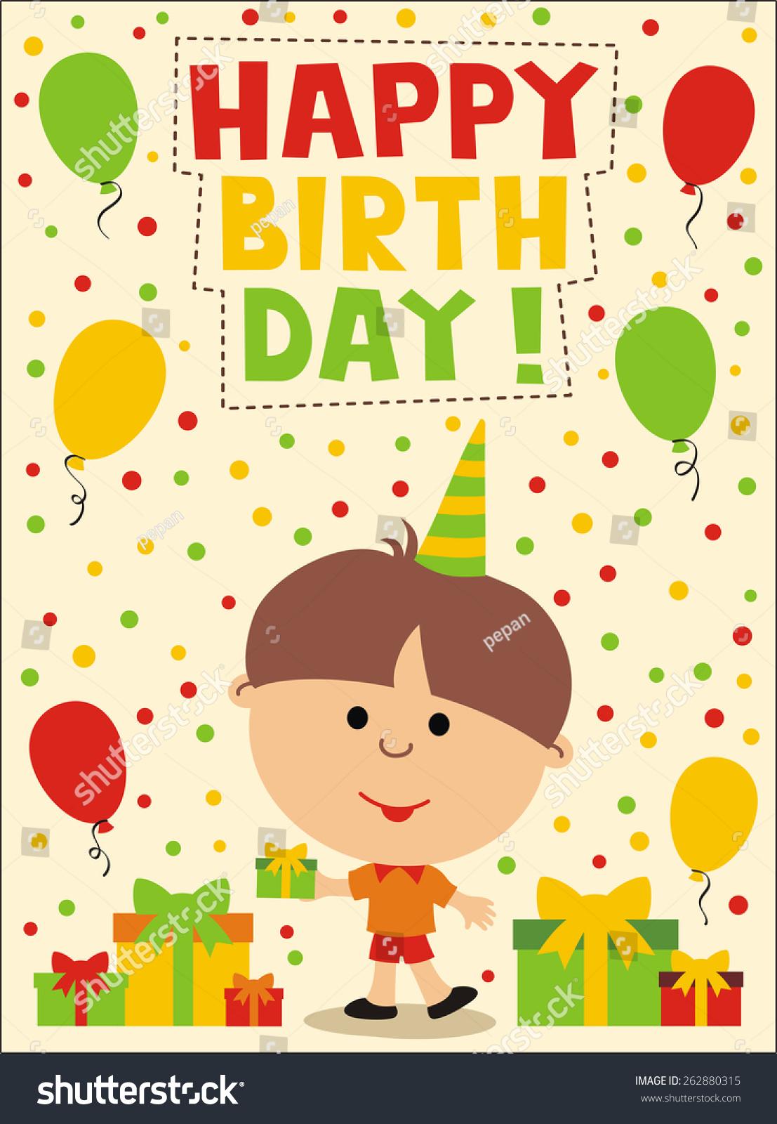 Happy birthday for little boys