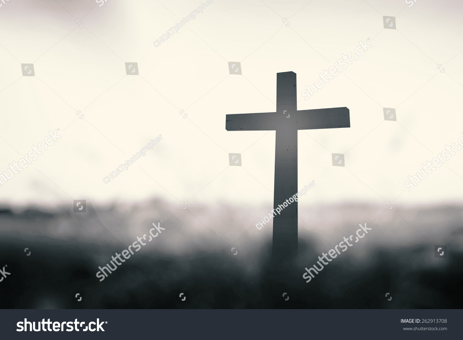 Royalty Free Symbol For Jesus Christ Silhouette The 262913708