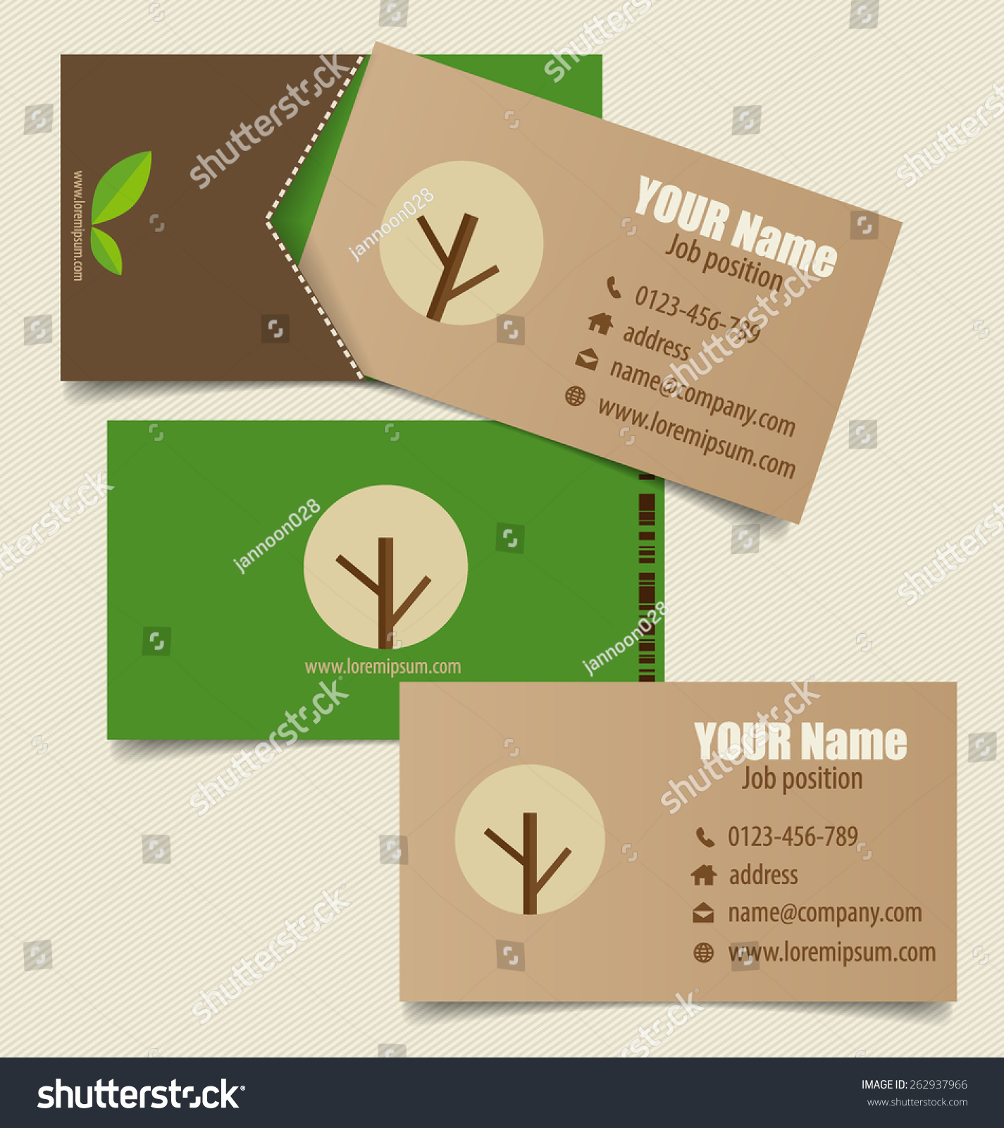 Nature banner modern business card template stock vector 262937966 nature banner modern business card template eco organic labels and cards vector illustration magicingreecefo Images