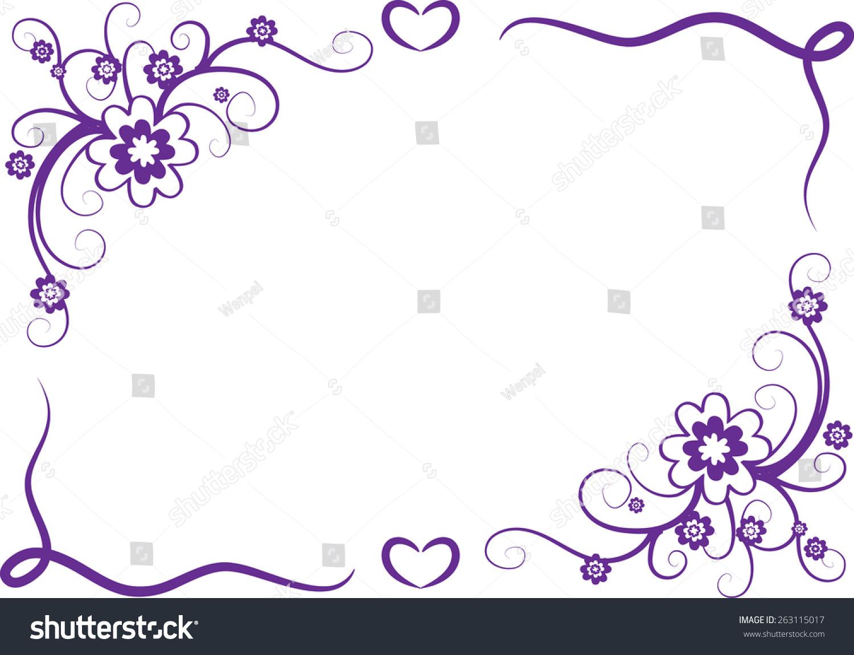 Purple border