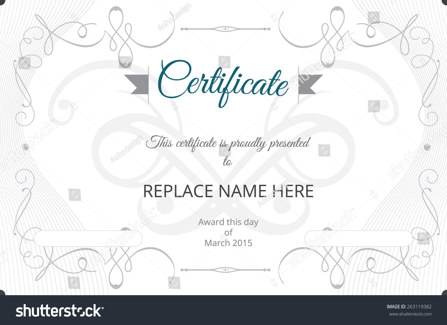 Delighted certificate template vector photos entry level resume certificate border certificate template vector illustration stock yadclub Image collections