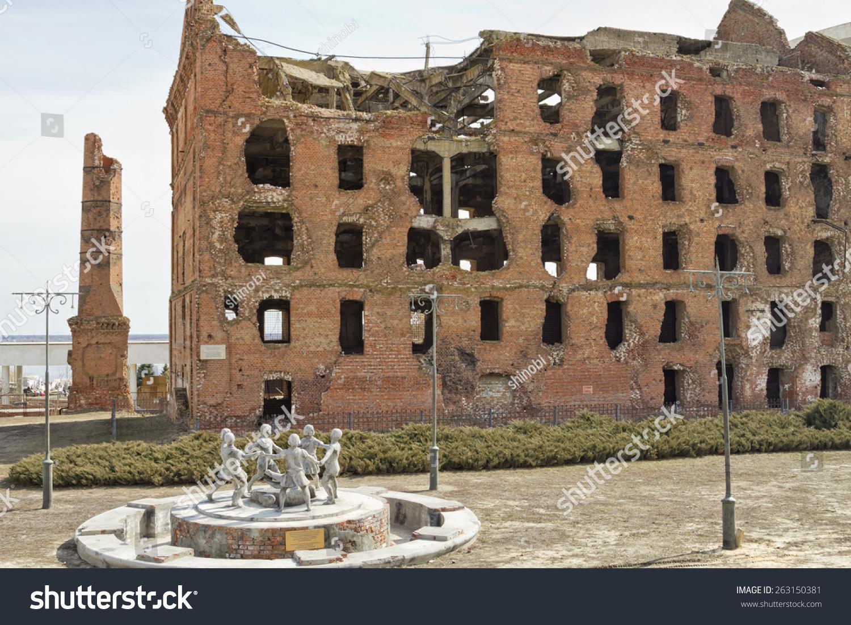 Ruined mill of Gergardt in Volgograd 3