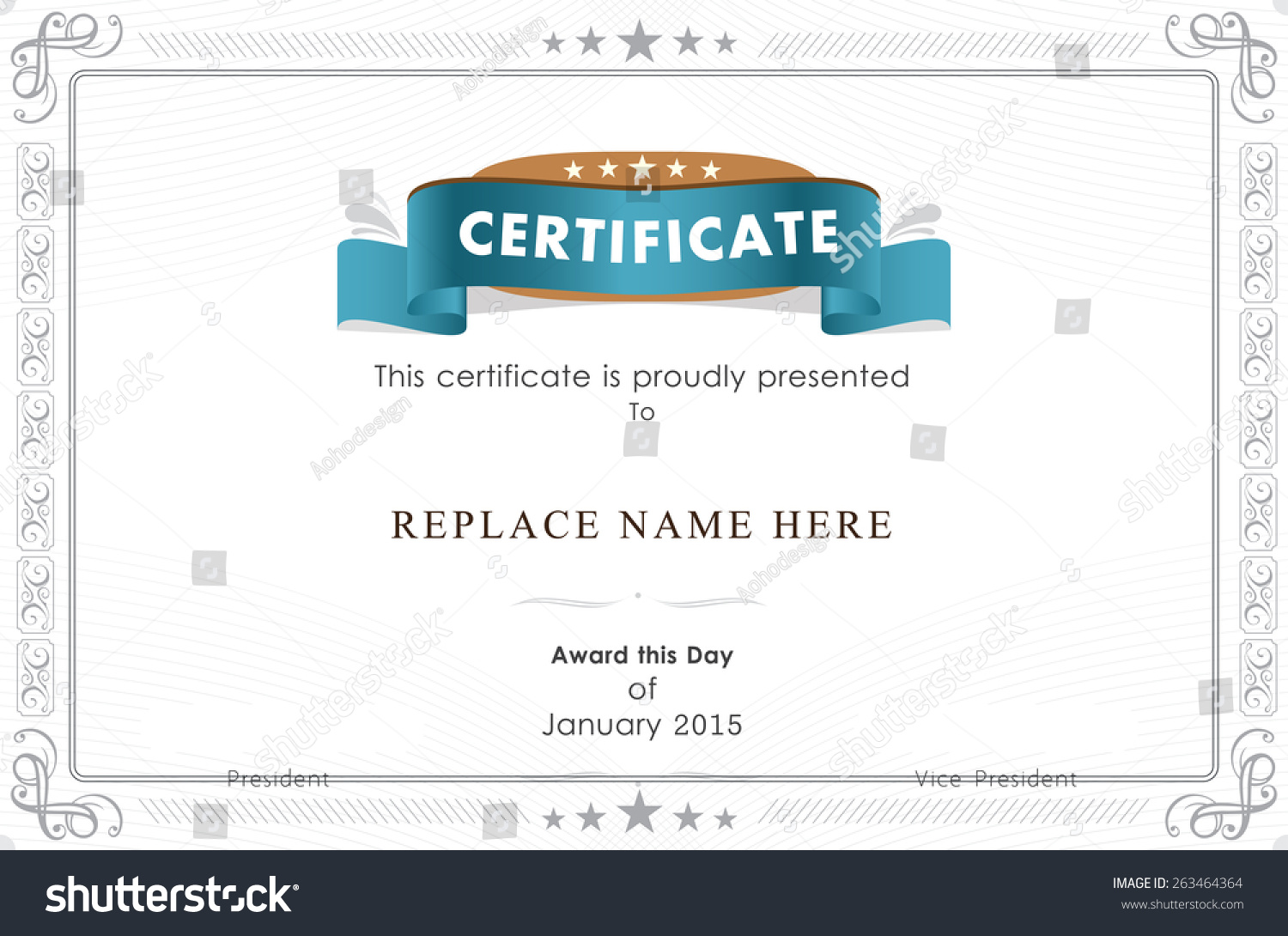 Stock certificate example alumni director cover letter proof of share certificate template uk sample resume for hvac technician stock vector certificate border certificate template vector yadclub Images