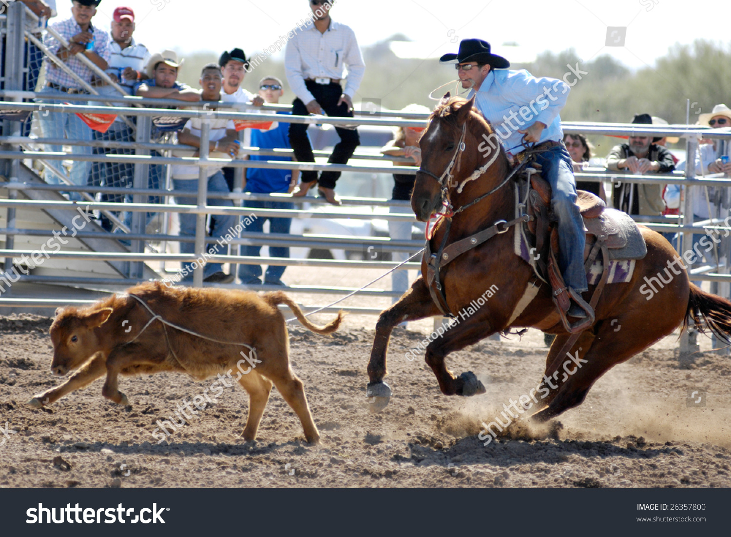 Apache Junction Az February 28 Competitor Stock Photo