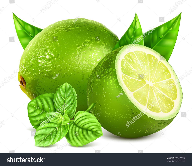 Фрукты зеленые дизайн