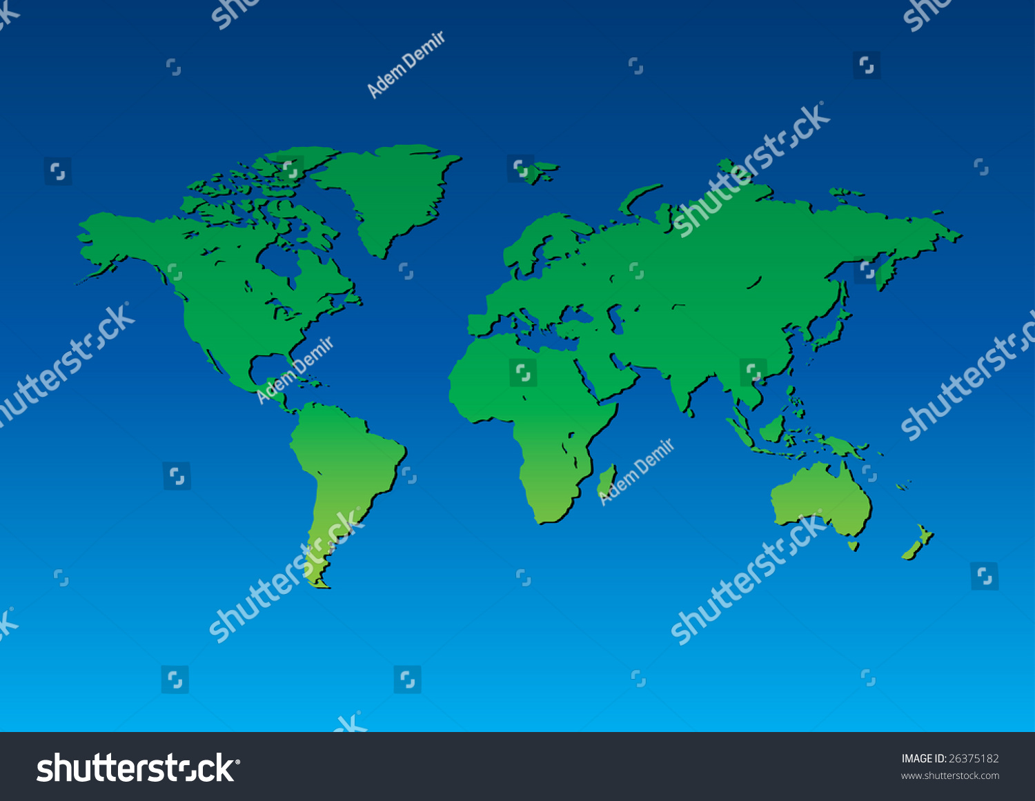 Green blue world map background world vectores en stock 26375182 green blue world map background world background series gumiabroncs Image collections