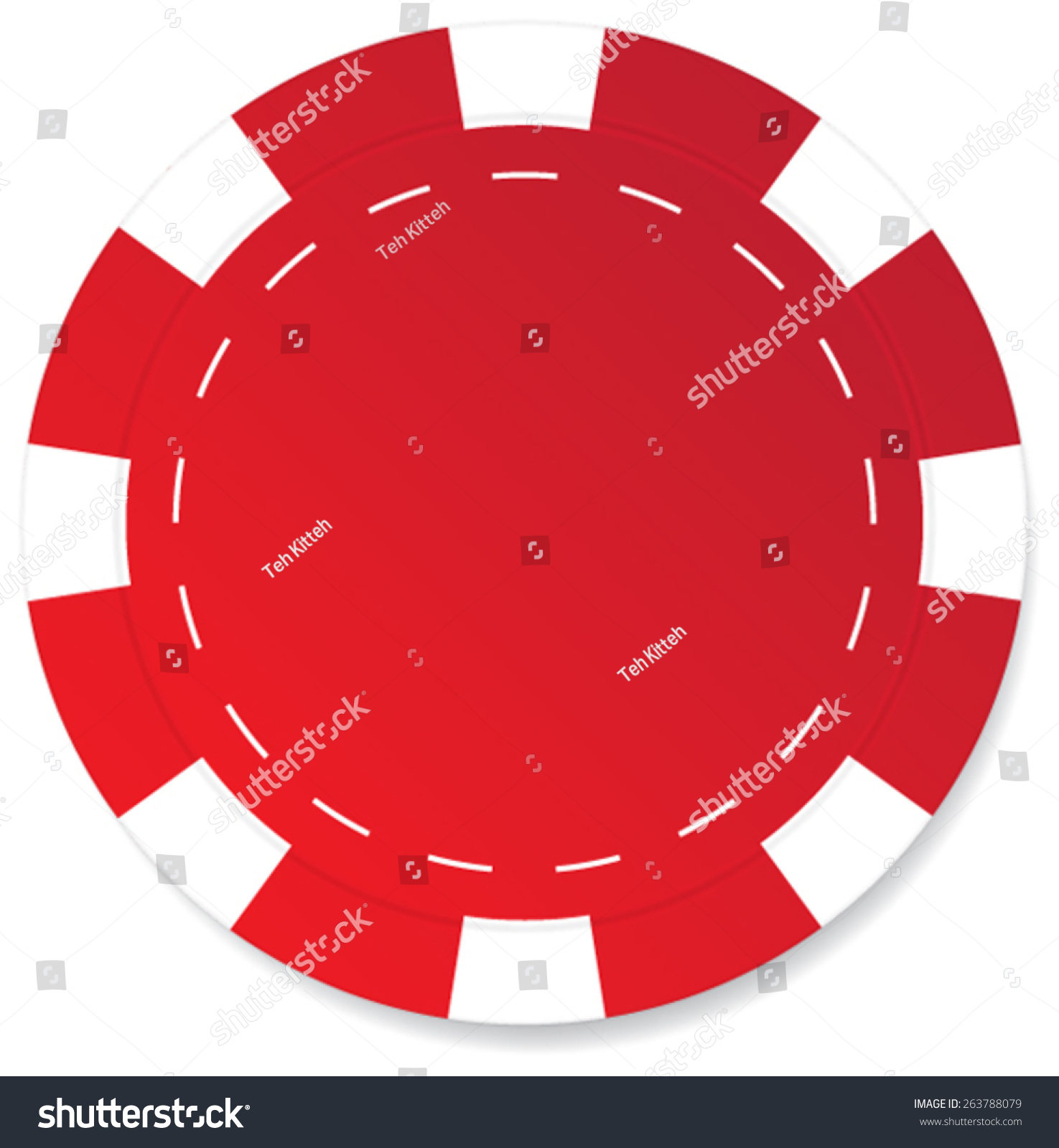 red poker chip vector isolated stock vector hd royalty free rh shutterstock com poker chip vector art poker chip vector free