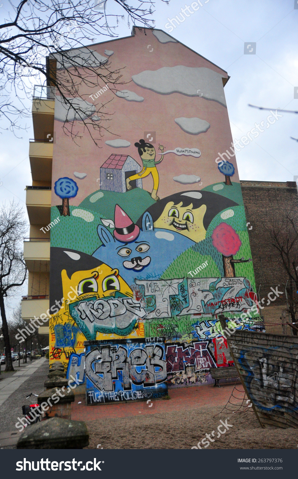 Graffiti house in easten berlin berlin is the preview save to a lightbox