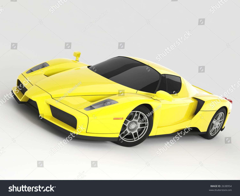 Ilustracoes Stock Imagens E Vetores De Yellow Ferrari Enzo 2638954