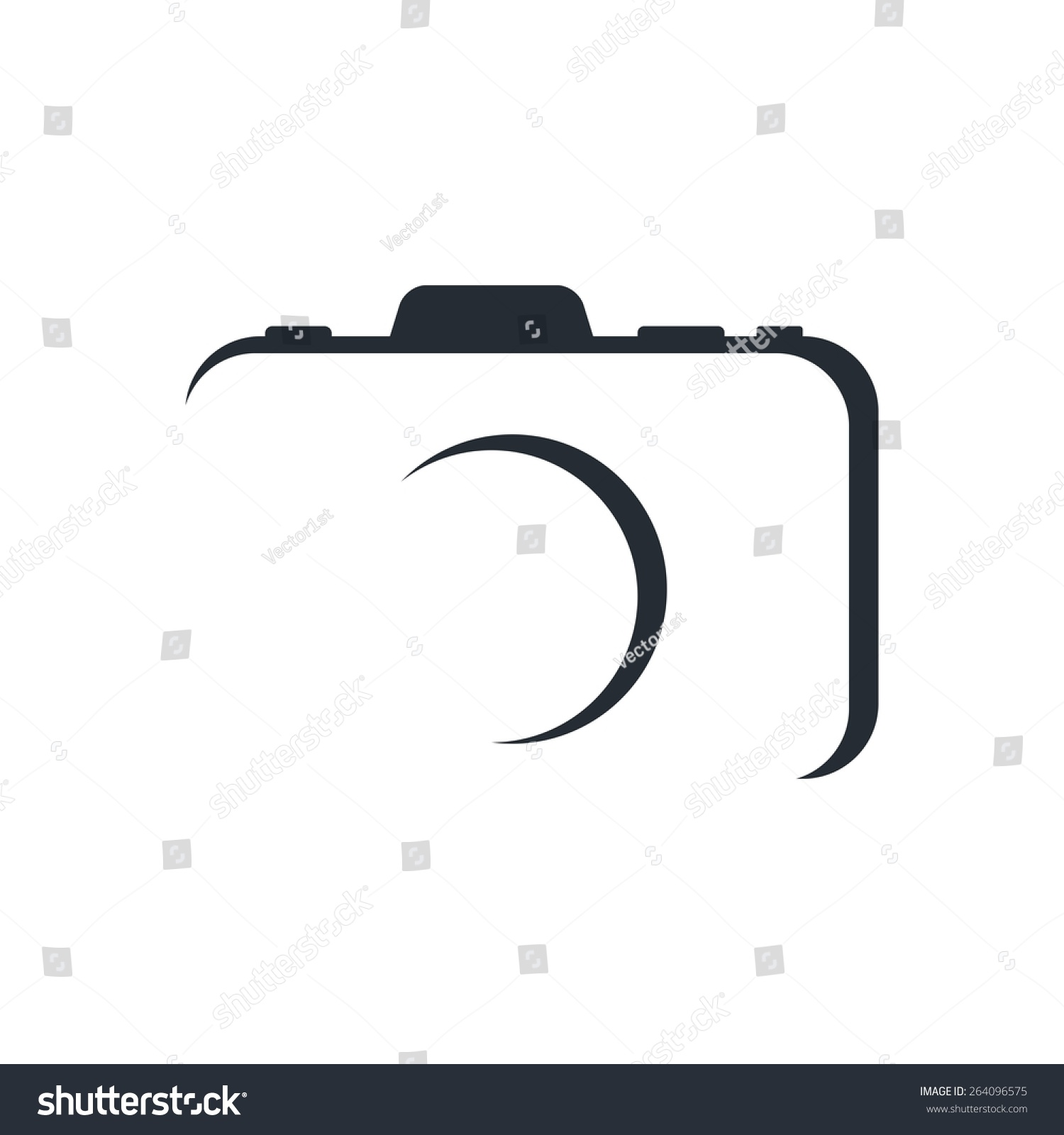 Photography Logo Template Stock Vector 264096575 - Shutterstock