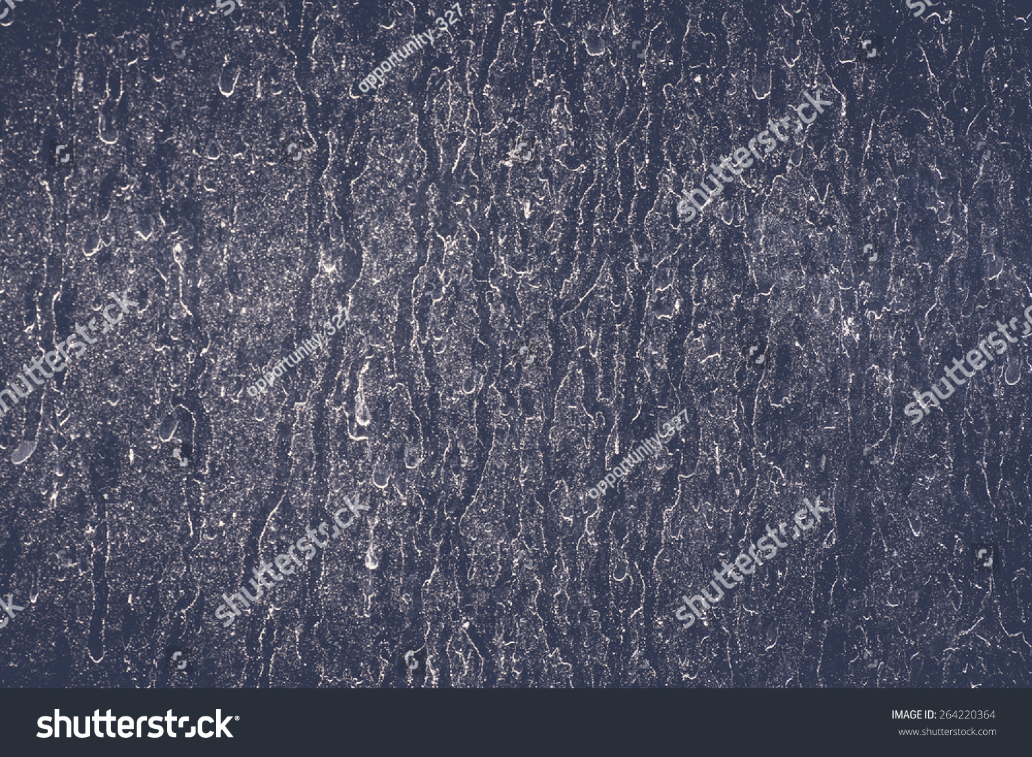Water Slough On The Sheet Glass Stock Photo 264220364