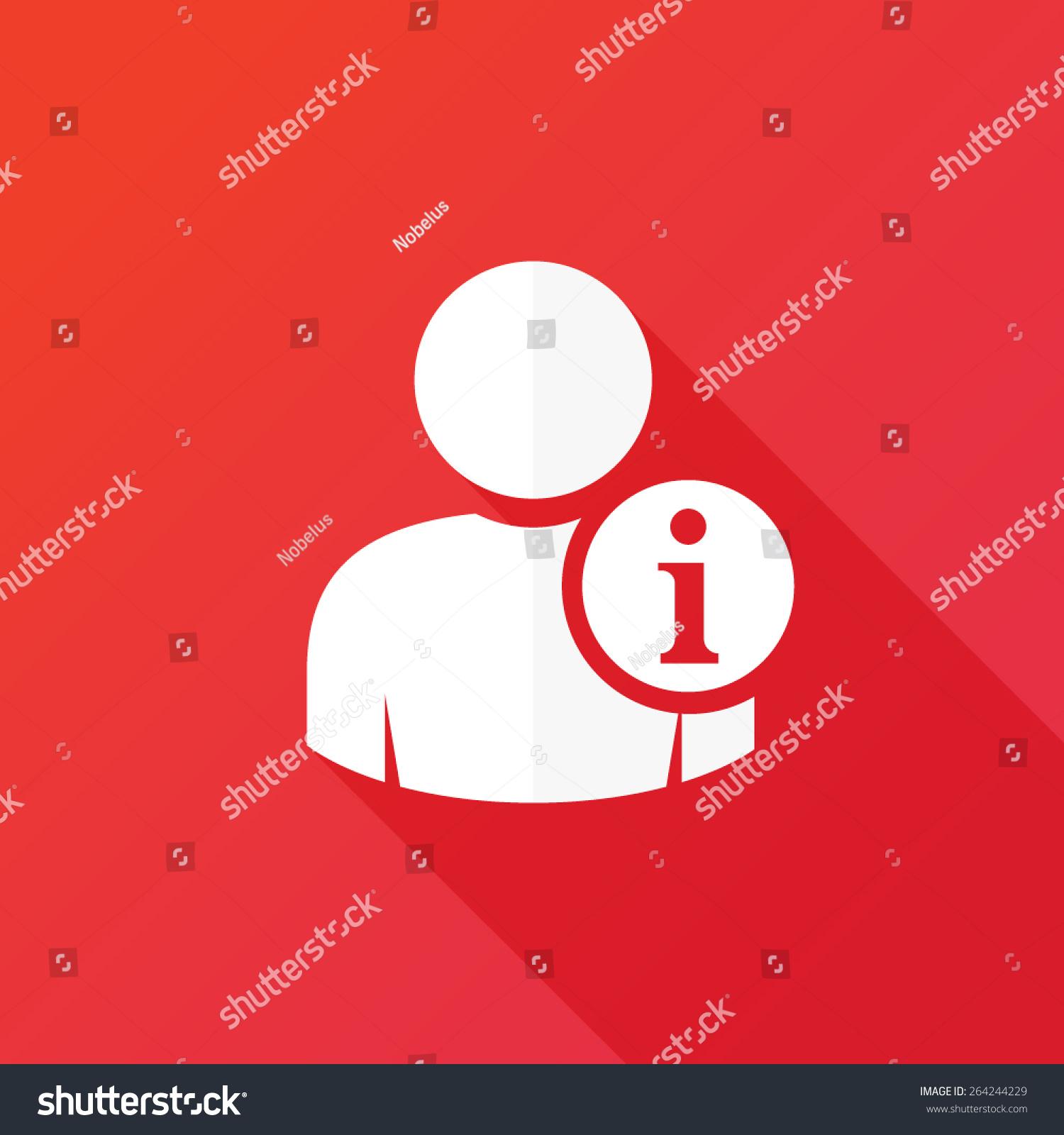 user information icon personal information icon のベクター画像素材