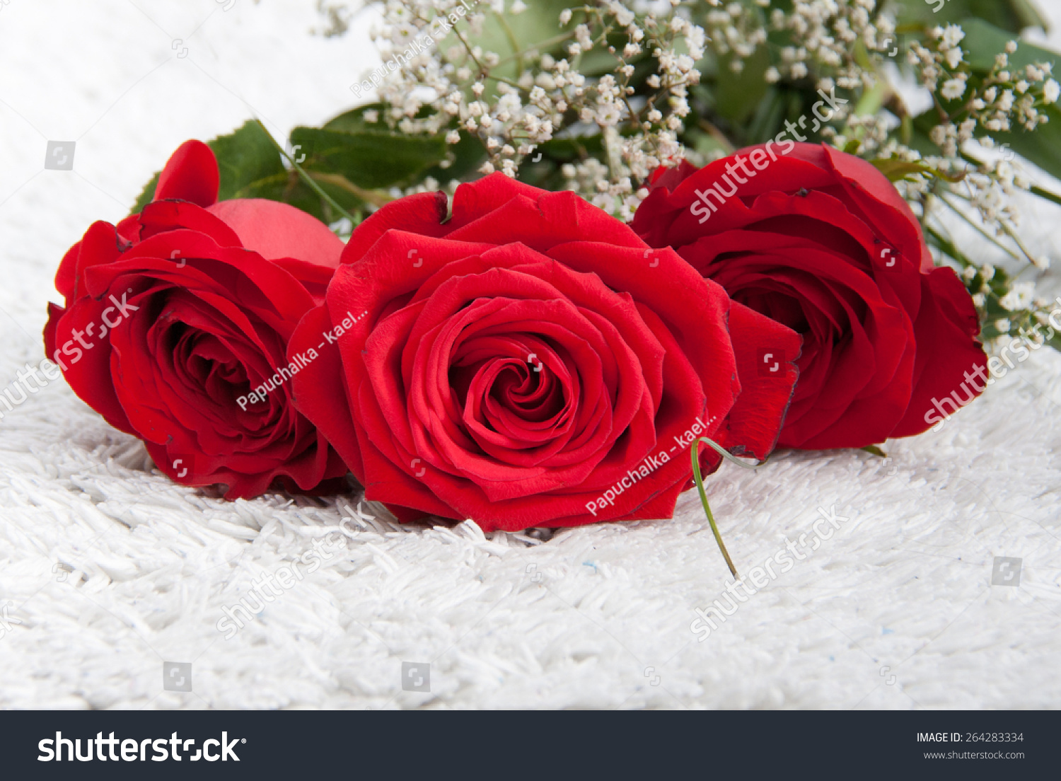 Farewell Flowers Bunch Red Roses Little Stock Photo Edit Now