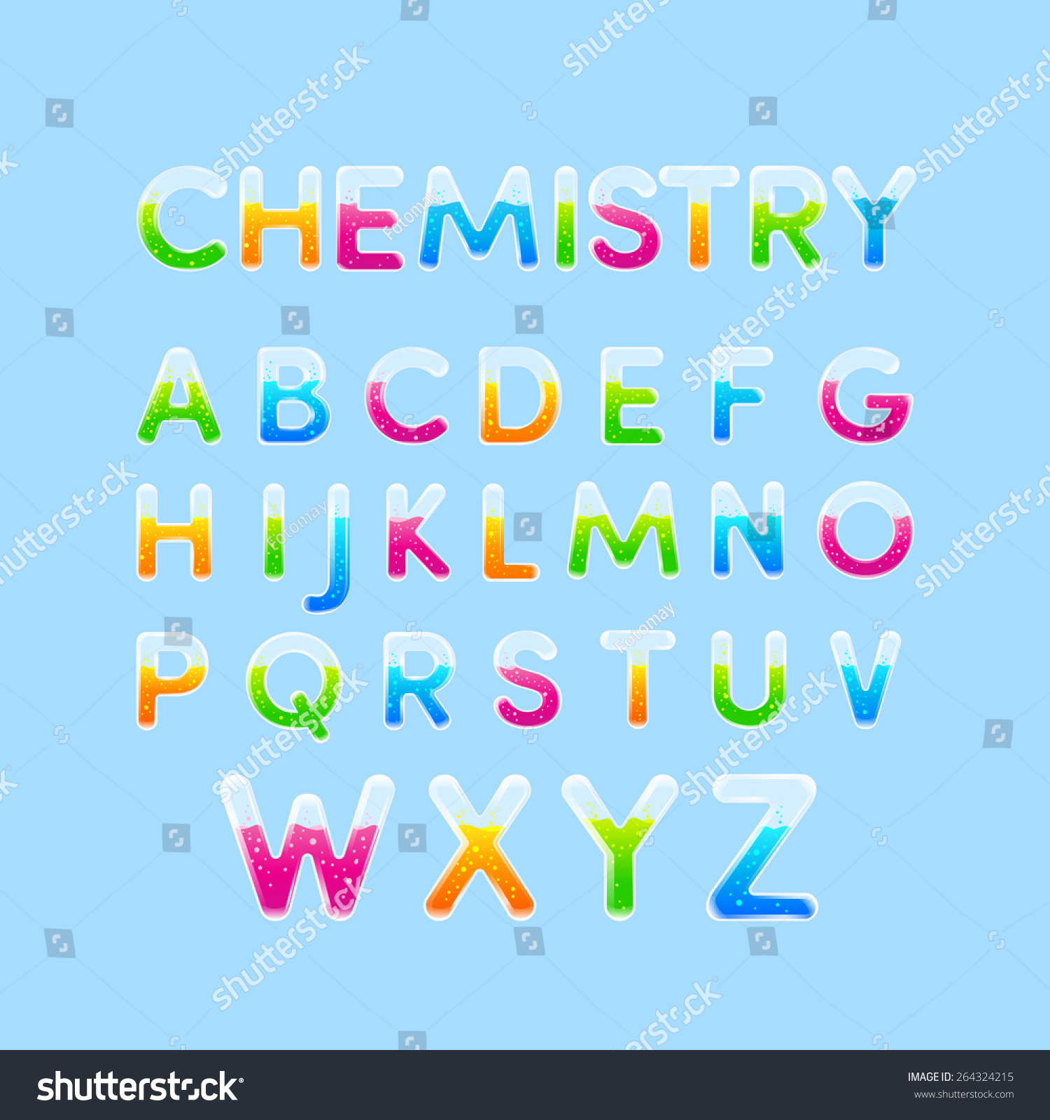Test tubes chemistry alphabet colorful font stock photo photo test tubes chemistry alphabet colorful font stylet of capital letter a b altavistaventures Images