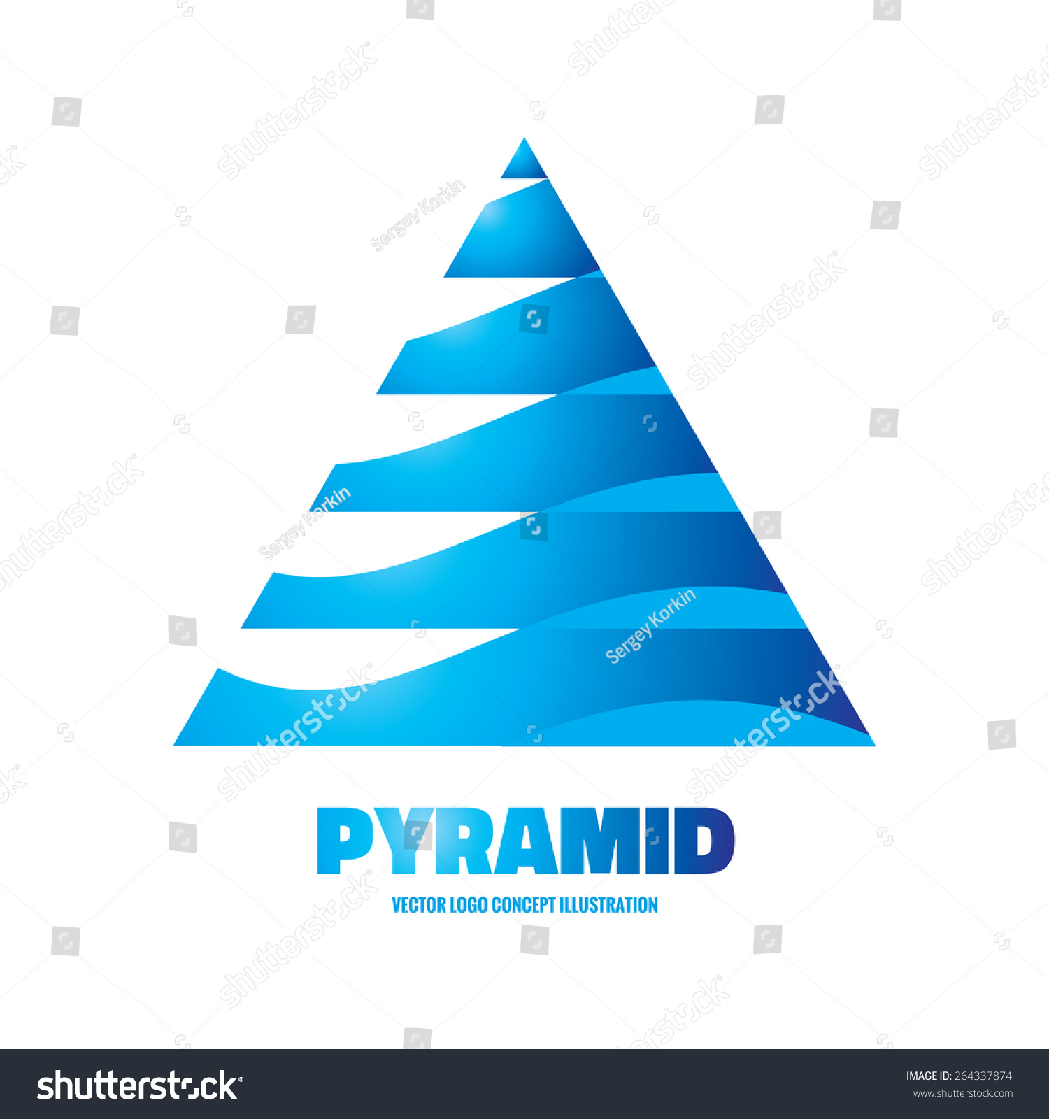 Pyramid vector related keywords suggestions pyramid for Triangle concept architecture