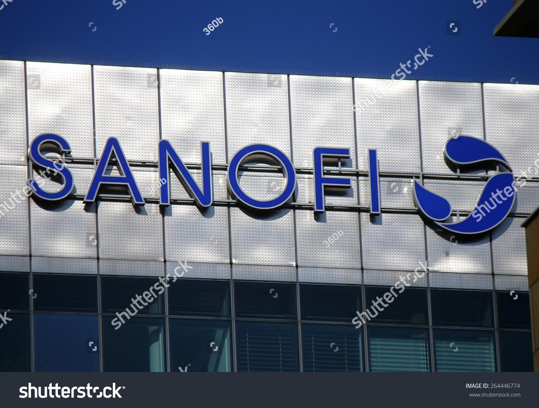 Circa february 2015 berlin logo brand stock photo 264446774 circa february 2015 berlin the logo of the brand sanofi berlin buycottarizona
